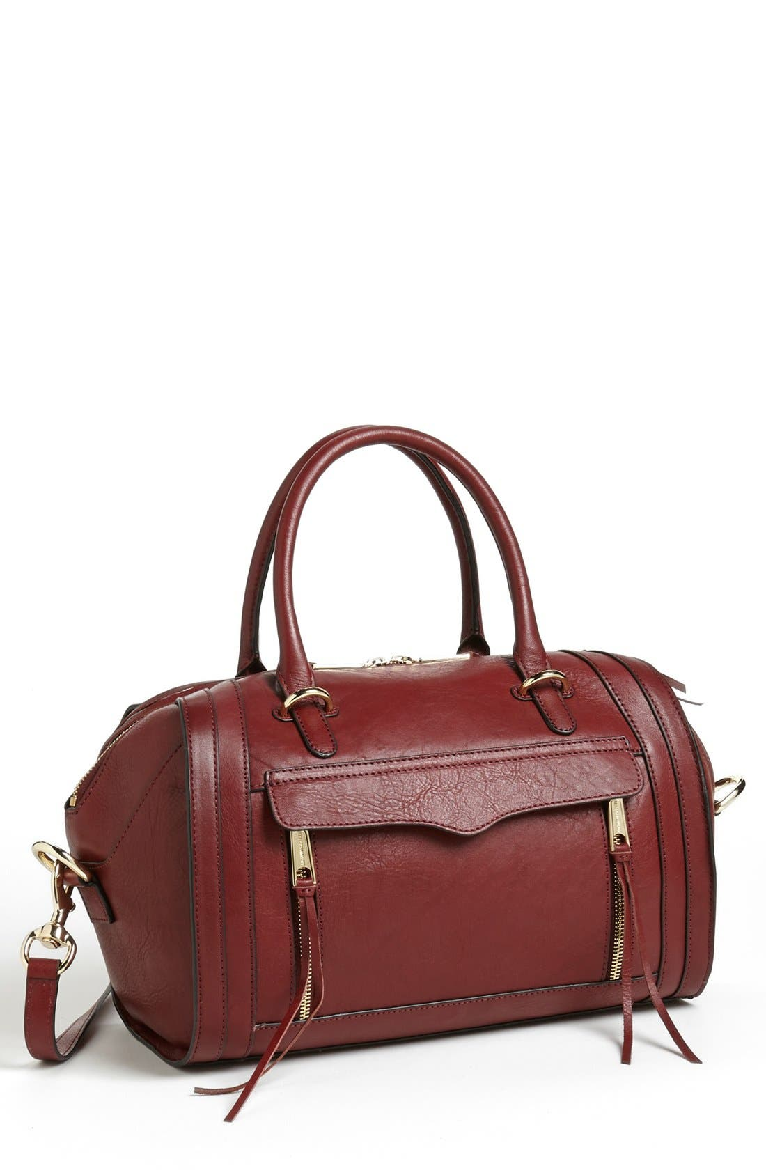 Alternate Image 1 Selected - Rebecca Minkoff 'Darcy' Leather Satchel (Nordstrom Exclusive)