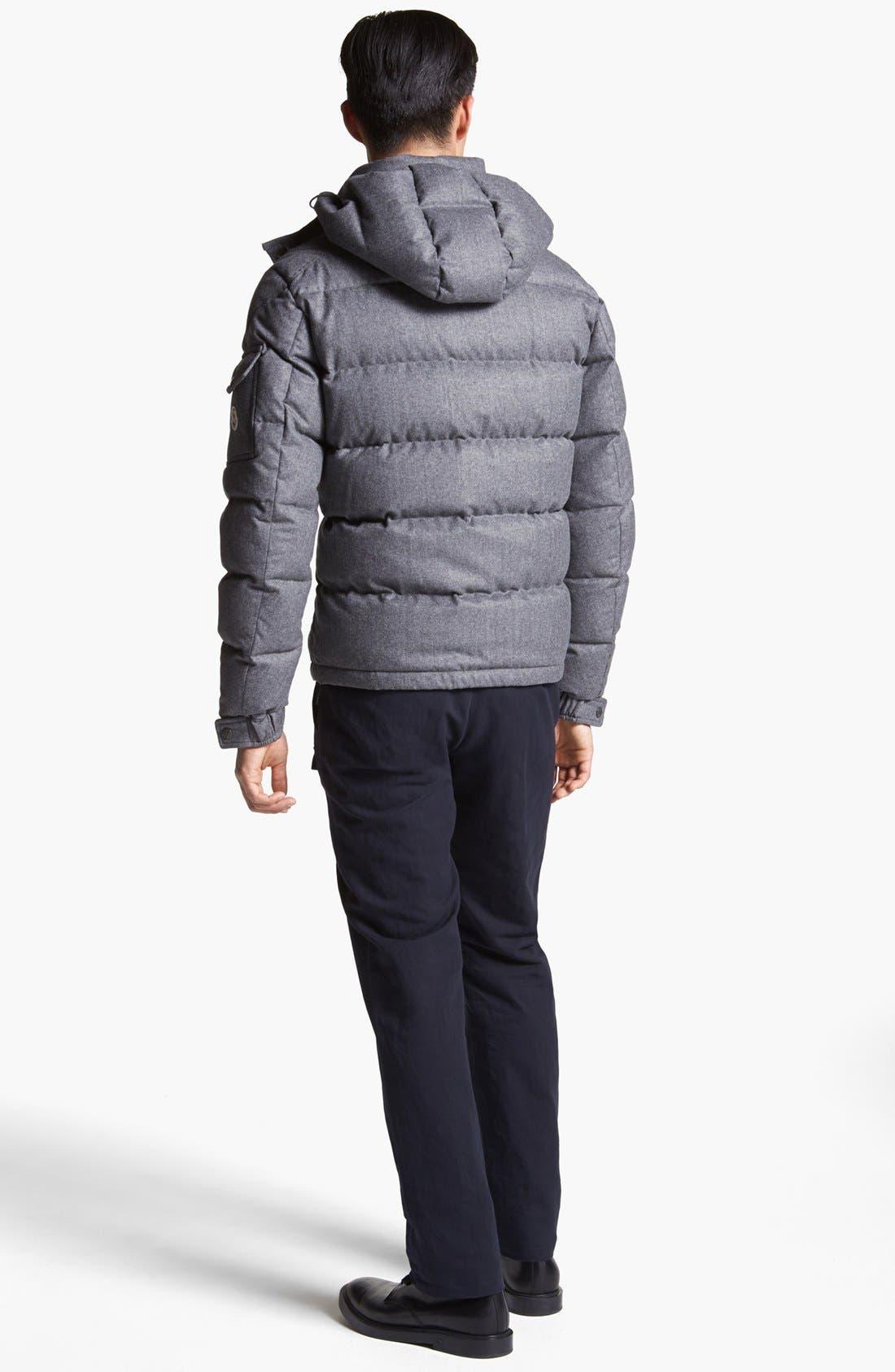 Alternate Image 5  - Moncler 'Mongenevre' Wool Down Jacket