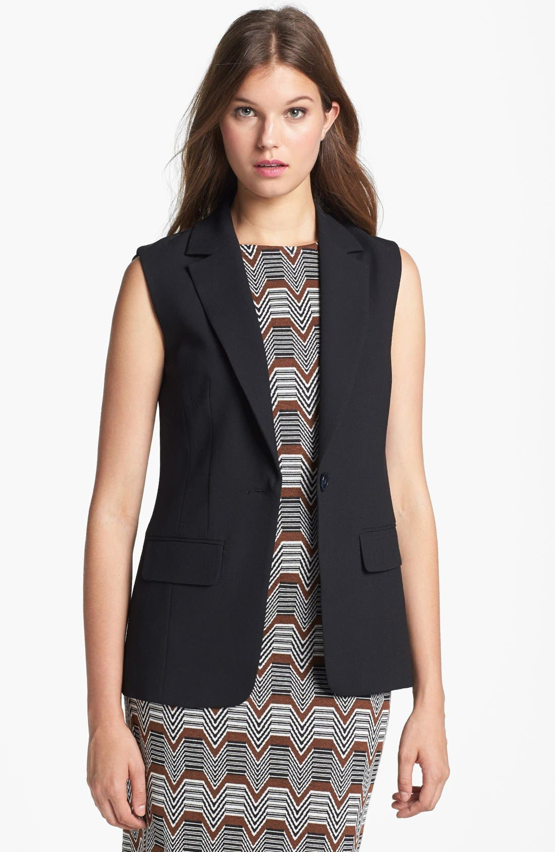 Alternate Image 1 Selected - Trina Turk 'Desia' Sleeveless Jacket