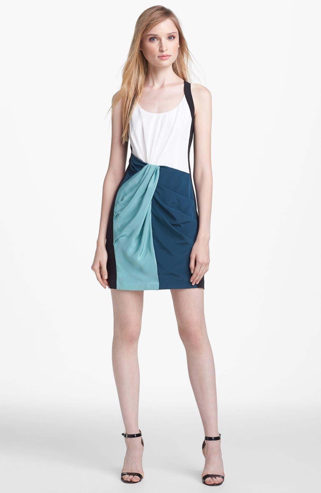 Alternate Image 1 Selected - Rebecca Minkoff 'Joshua' Silk Tank Dress