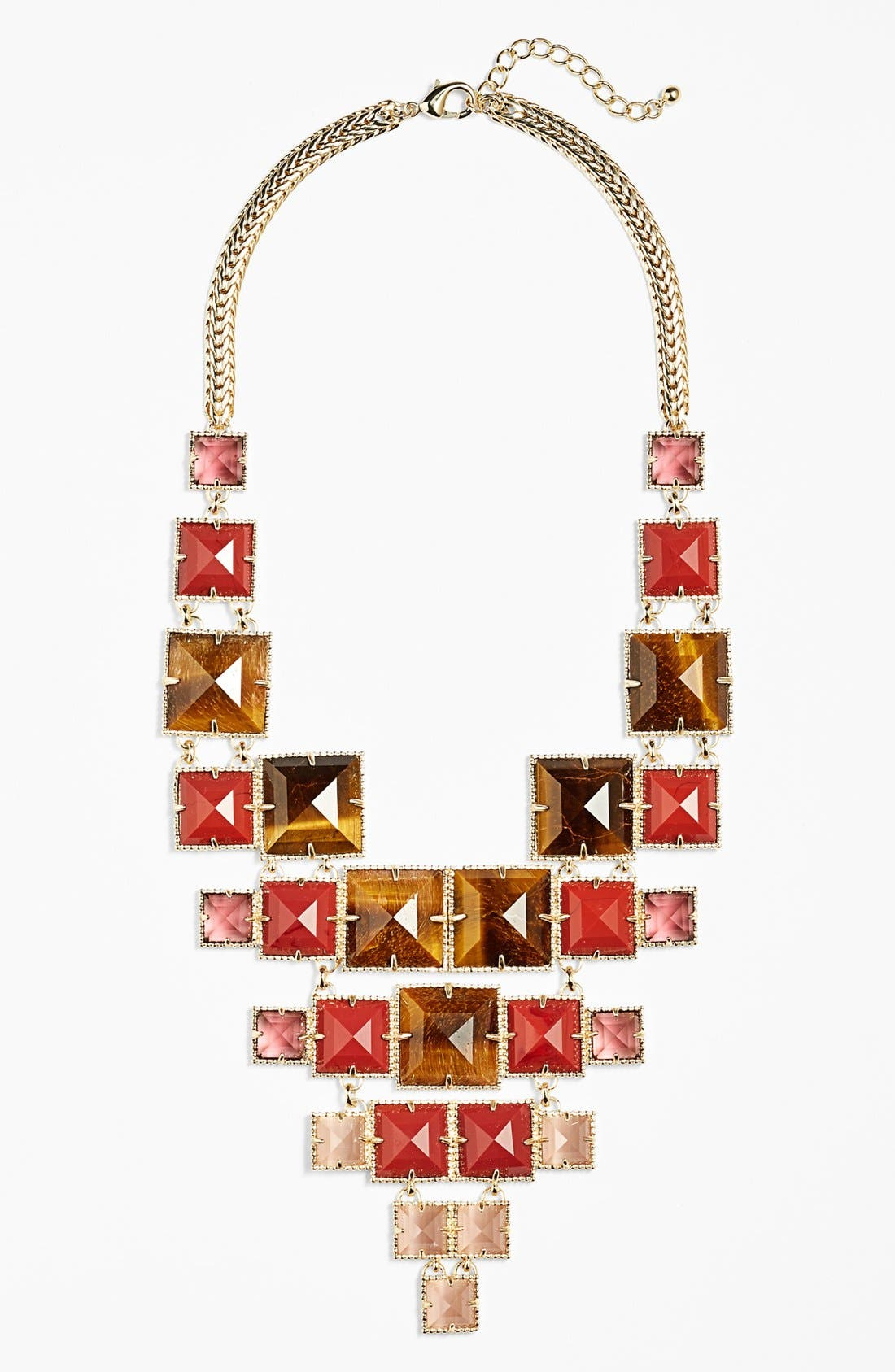 Main Image - Kendra Scott 'Maddox' Stone Bib Necklace