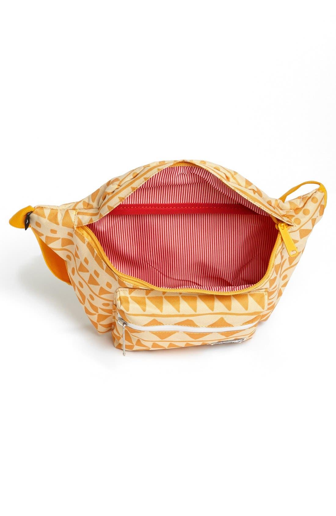 'Seventeen' Belt Bag,                             Alternate thumbnail 3, color,                             Chevron Butterscotch