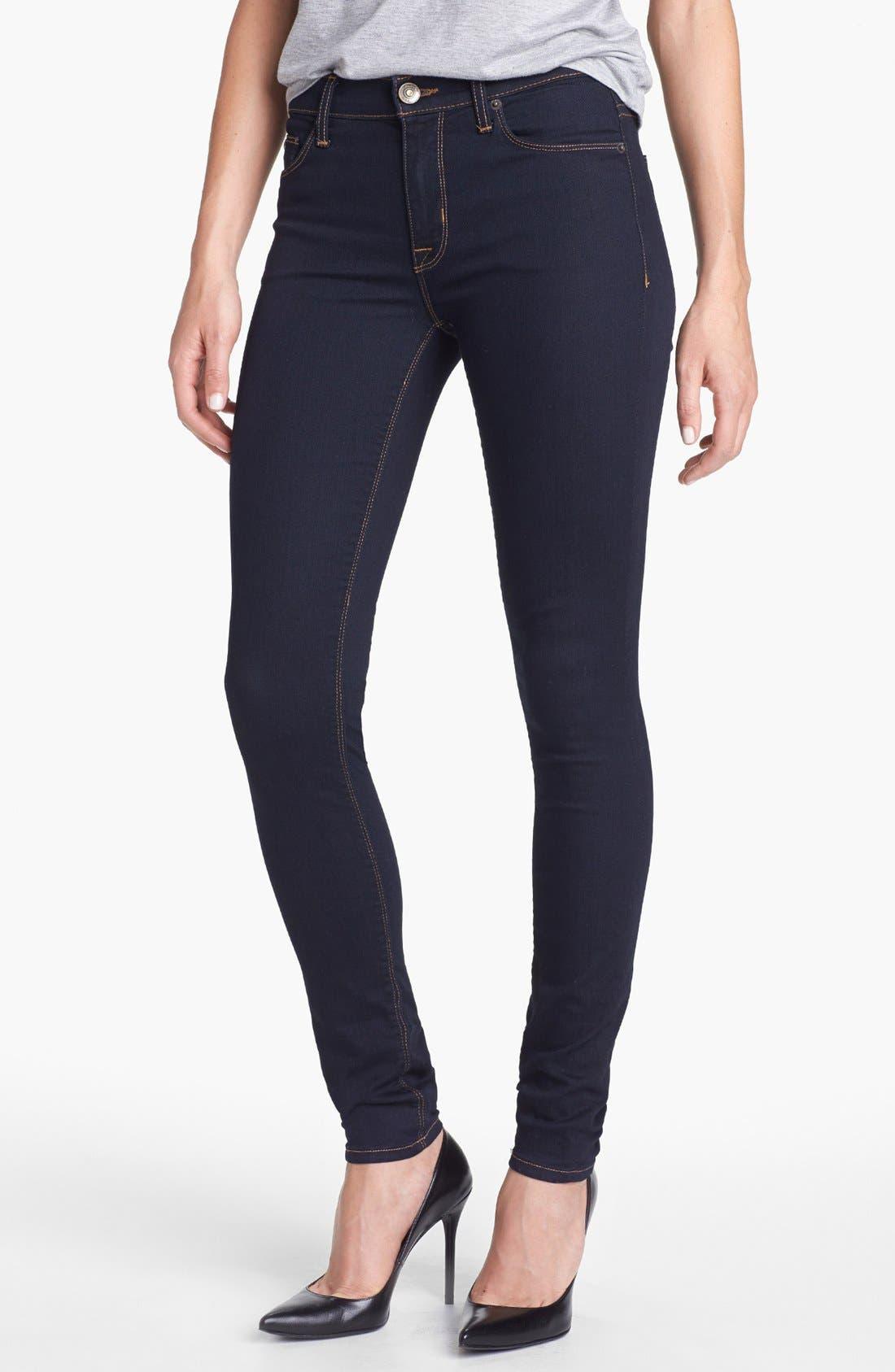 Alternate Image 1 Selected - Hudson Jeans 'Nico' Super Skinny Jeans (Storm)