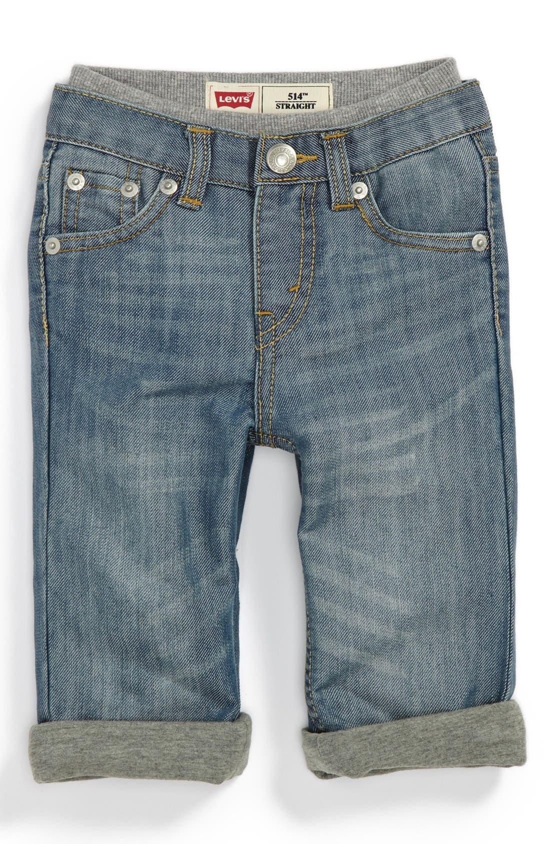Alternate Image 2  - Levi's '514™' Straight Leg Jeans (Toddler Boys)