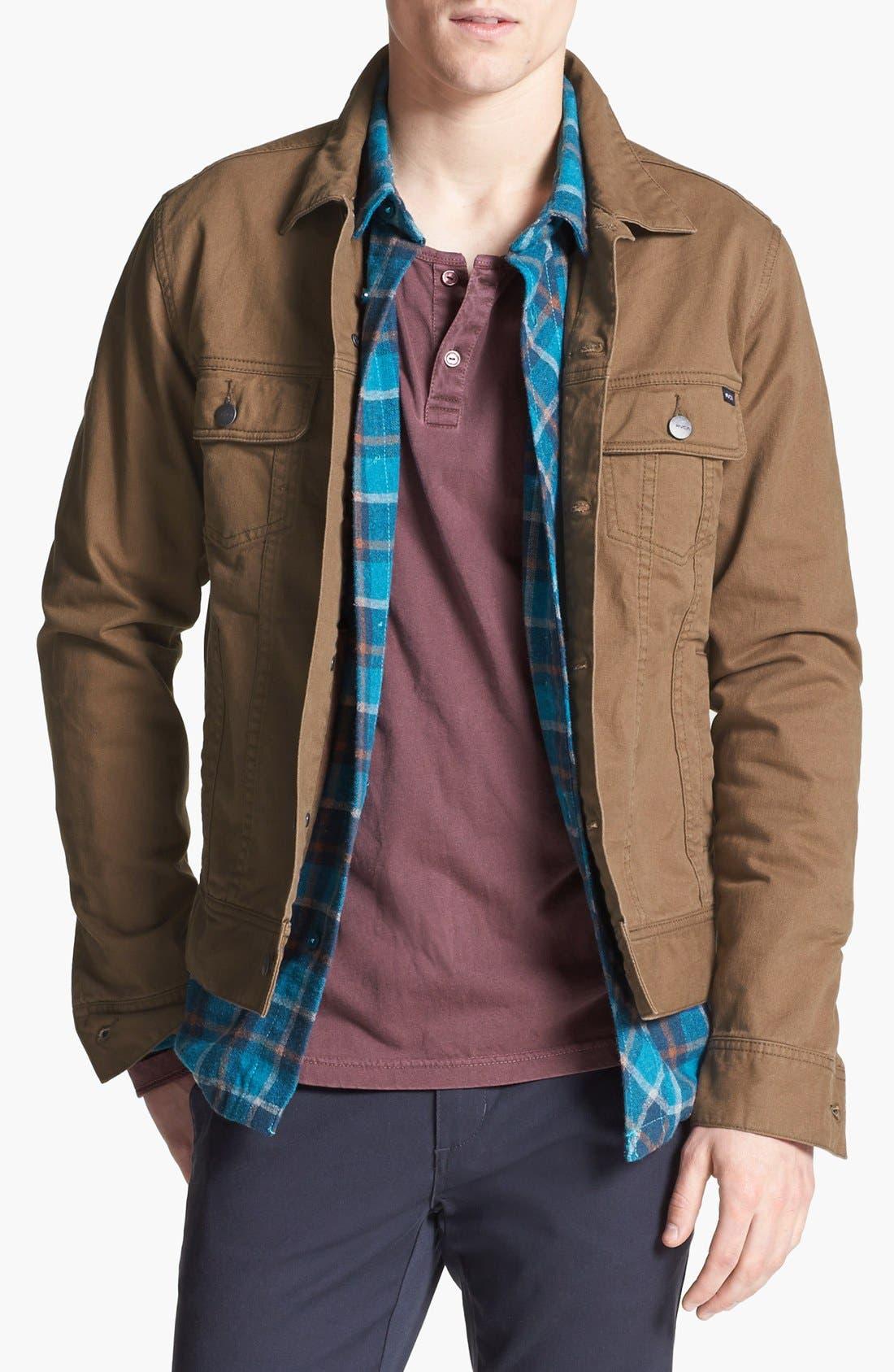 Alternate Image 1 Selected - RVCA 'Jeano' Denim Jacket