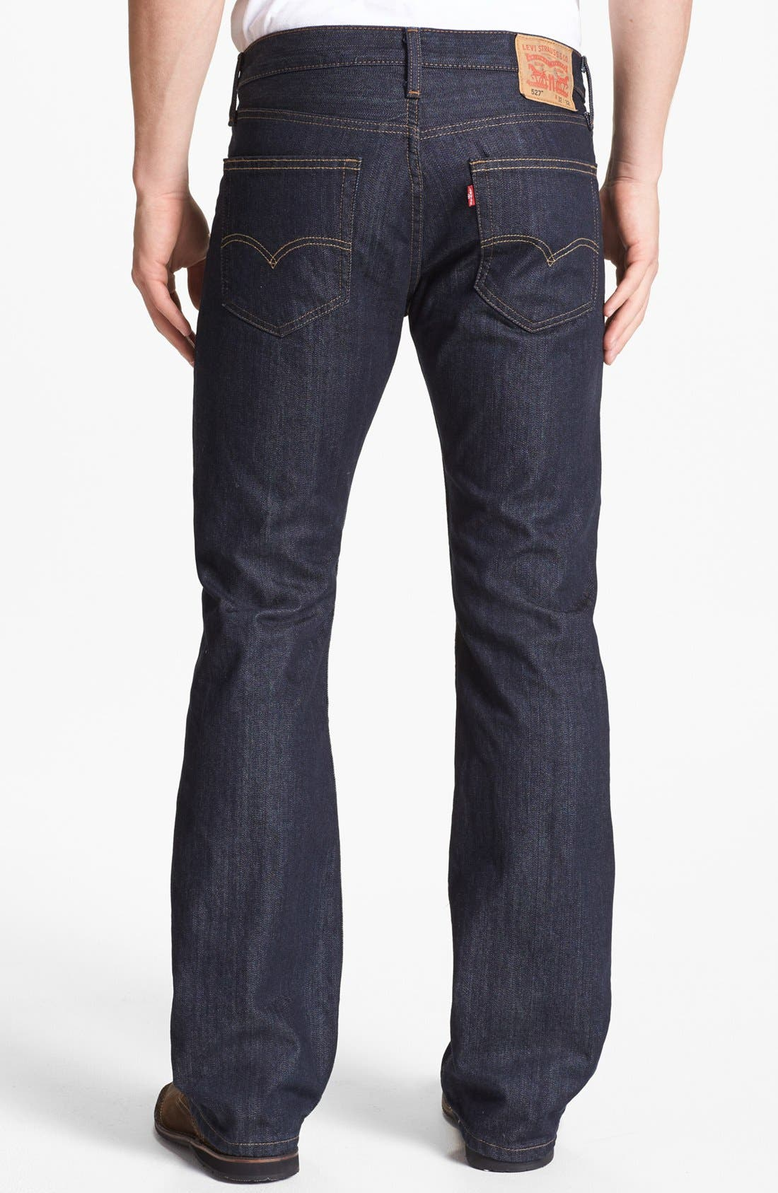 Alternate Image 1 Selected - Levi's® '527™' Bootcut Jeans (Tumbled Rigid)