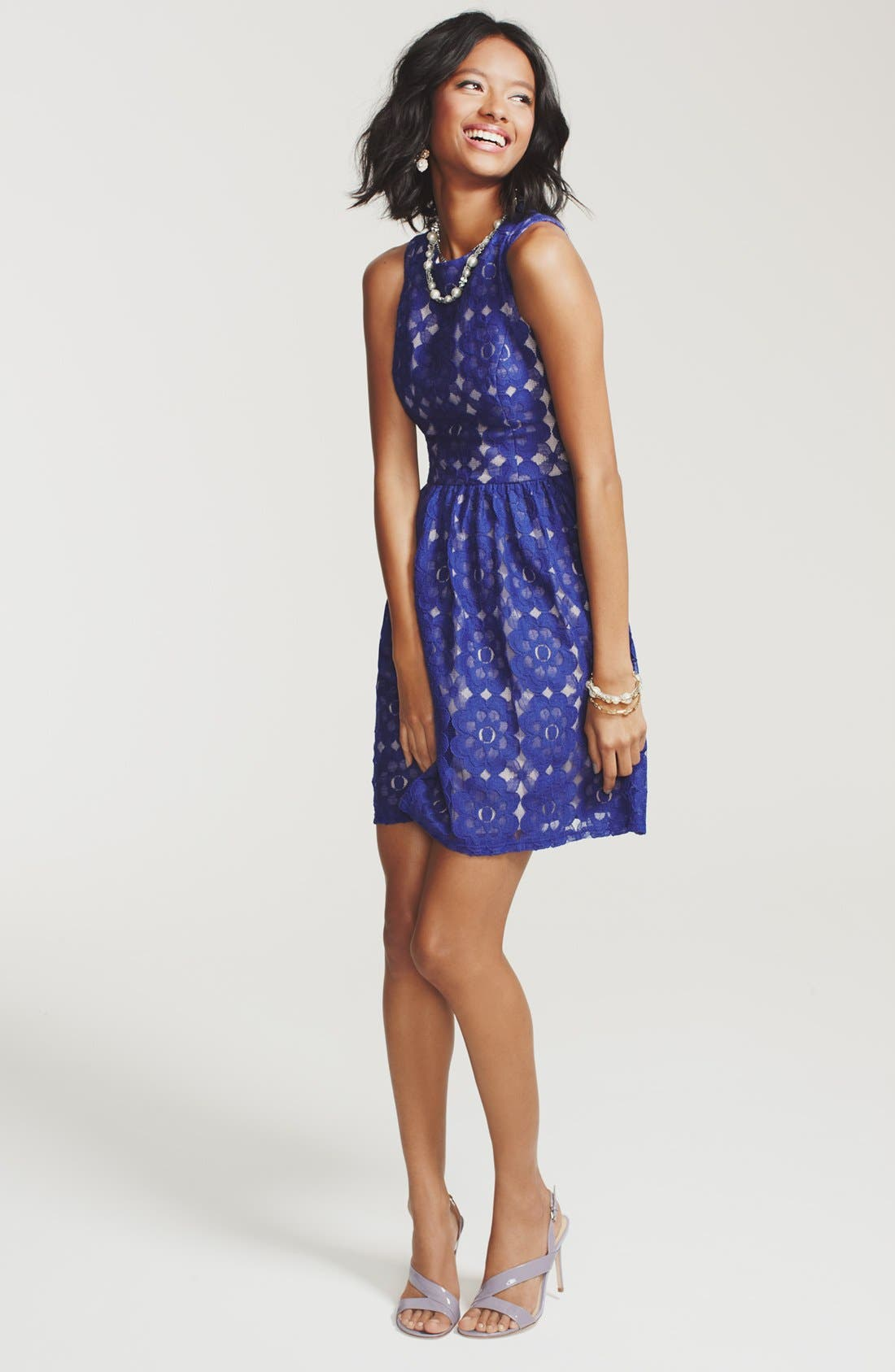 Main Image - Ivy & Blu for Maggy Boutique Dress & Accessories