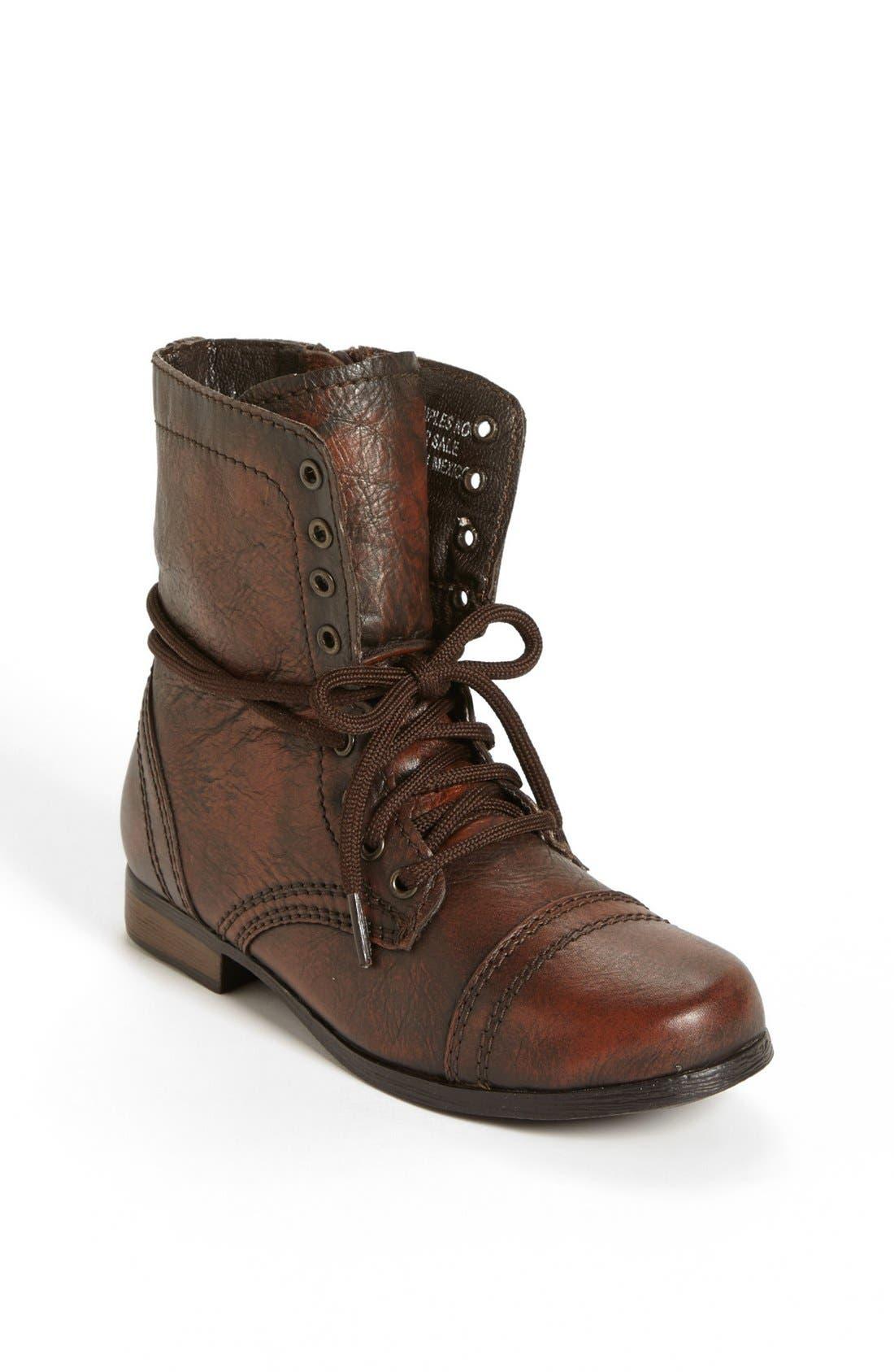 Alternate Image 1 Selected - Steve Madden 'Troopa' Boot (Toddler, Little Kid & Big Kid)