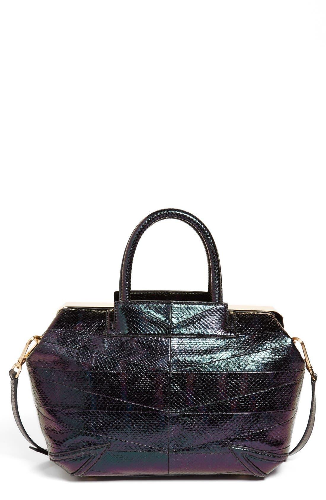 Main Image - B Brian Atwood 'Sophia' Leather Satchel, Extra Large
