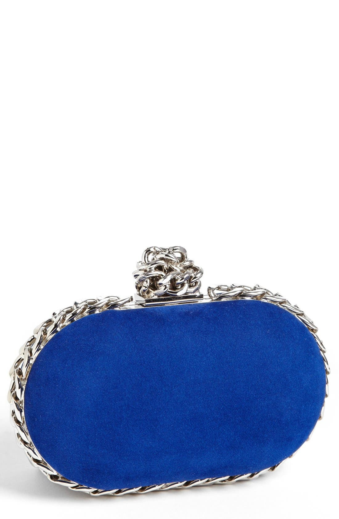 Main Image - Tasha Chain Knot Clutch