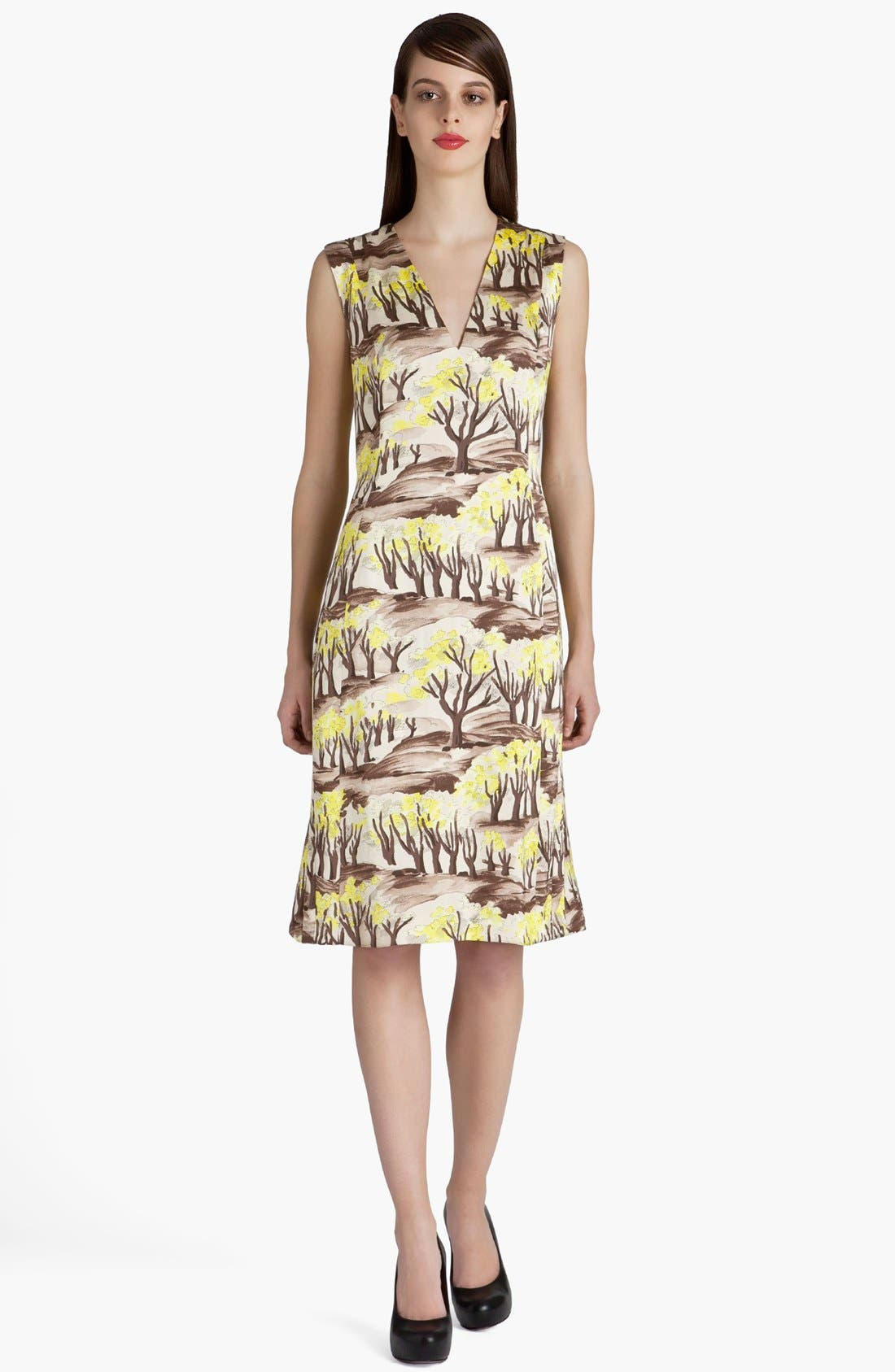 Alternate Image 1 Selected - Marni Forest Print Dress
