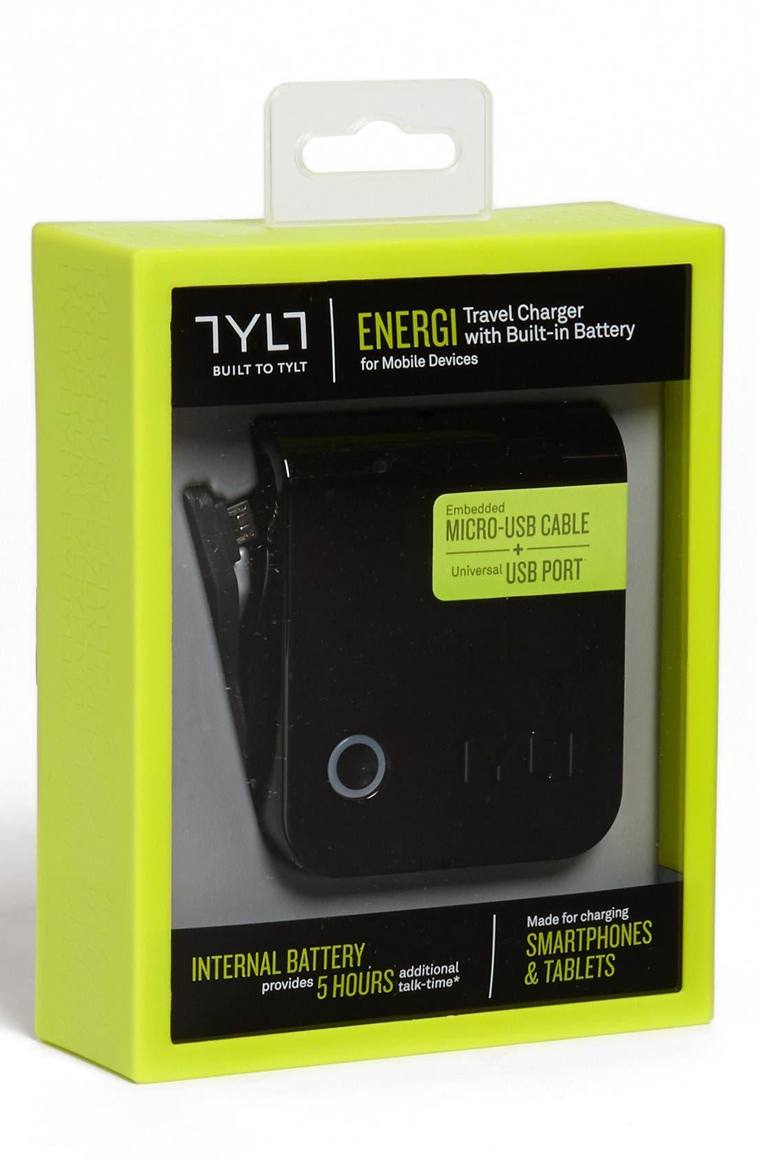Alternate Image 2  - TYLT 'ENERGI - Mini' USB Travel Charger