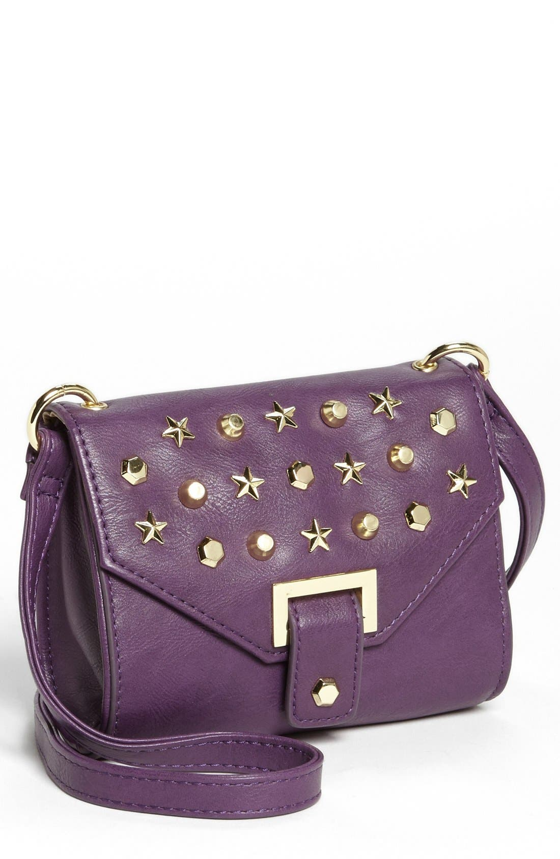 Alternate Image 1 Selected - Steve Madden Faux Leather Mini Crossbody Bag