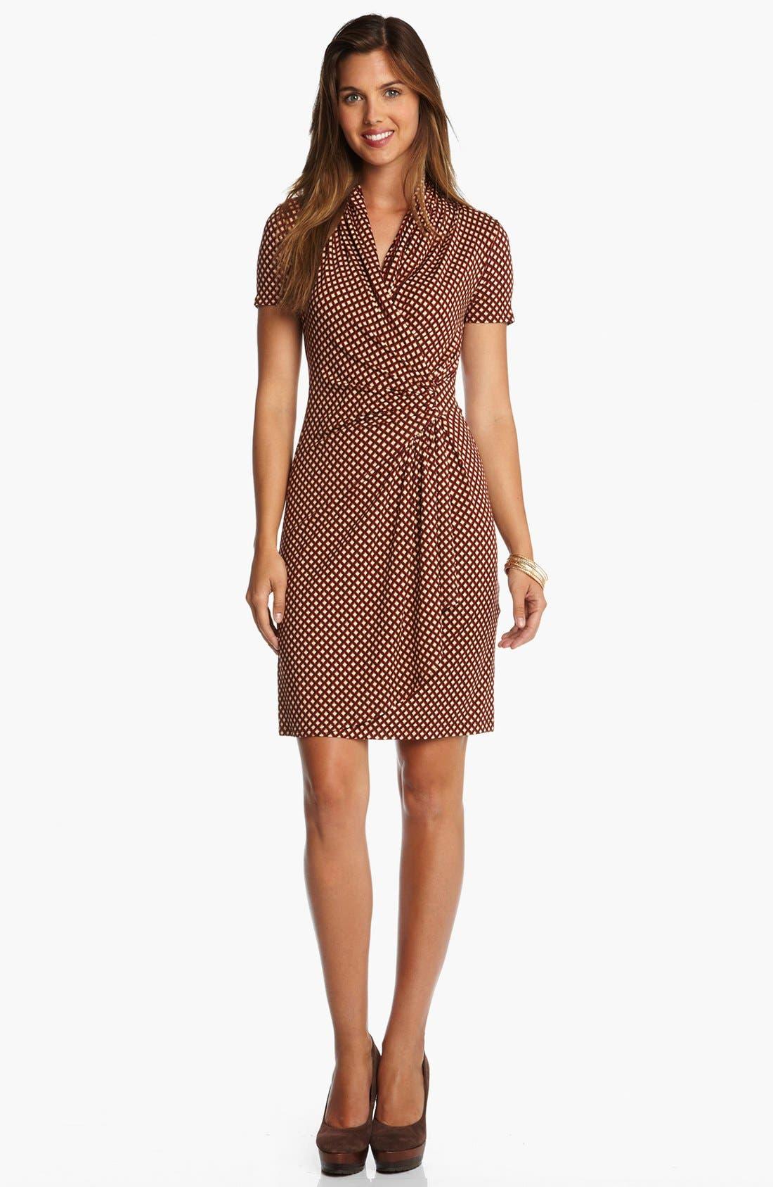 Alternate Image 1 Selected - Karen Kane 'Spice Market' Faux Wrap Dress