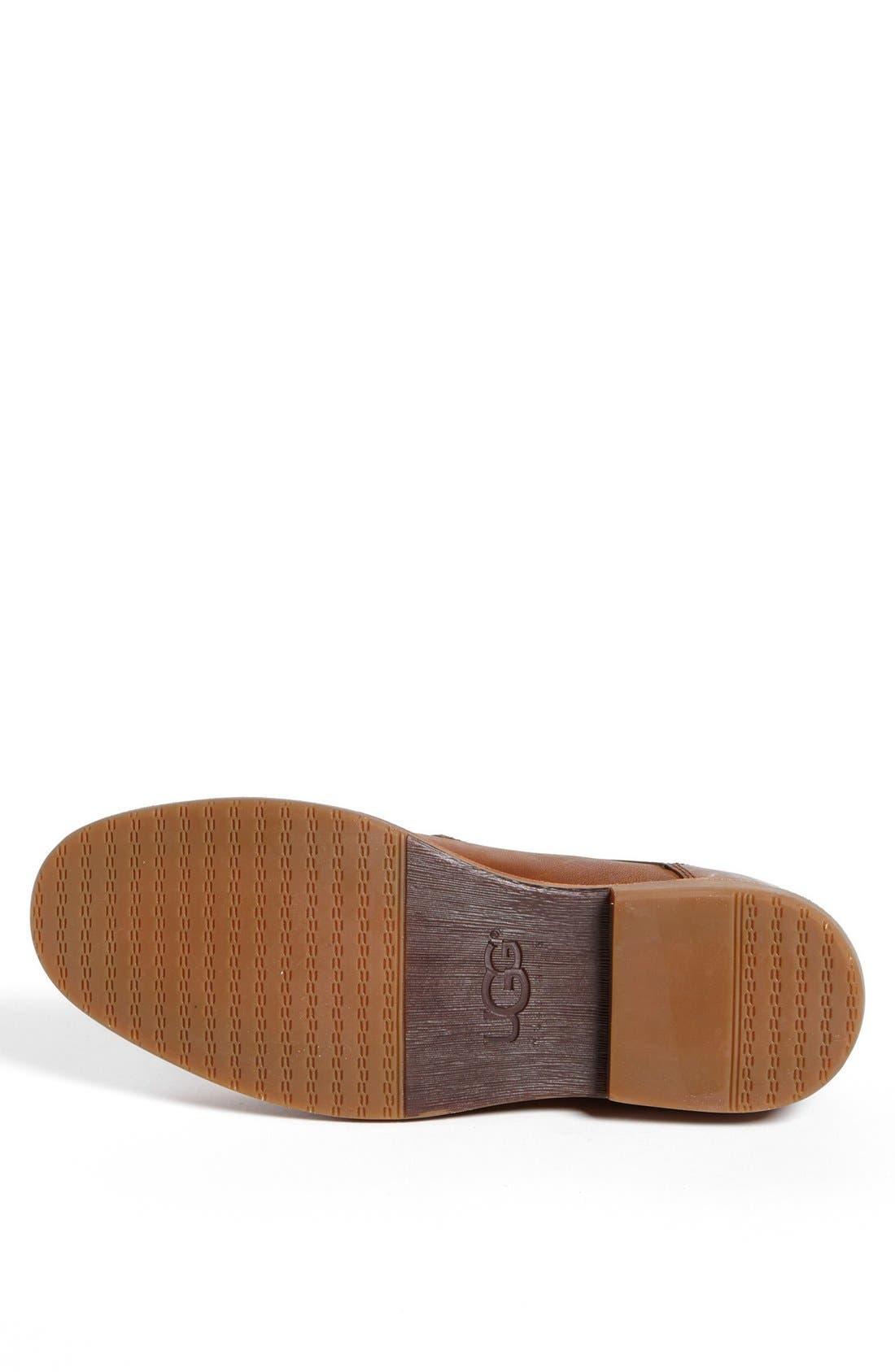 Alternate Image 4  - UGG® Australia 'Hunnington' Plain Toe Derby