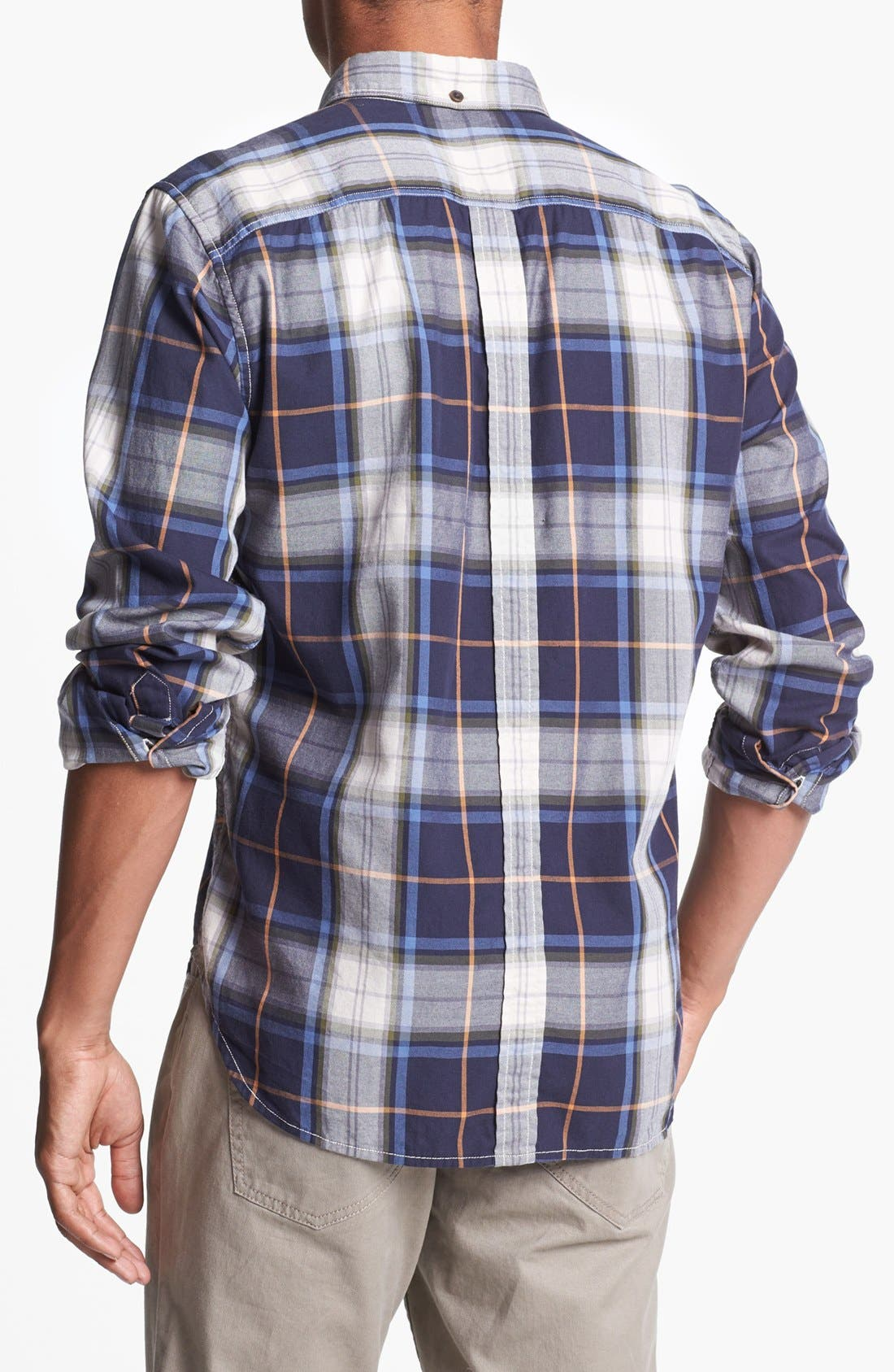 Alternate Image 2  - 7 For All Mankind® Plaid Shirt