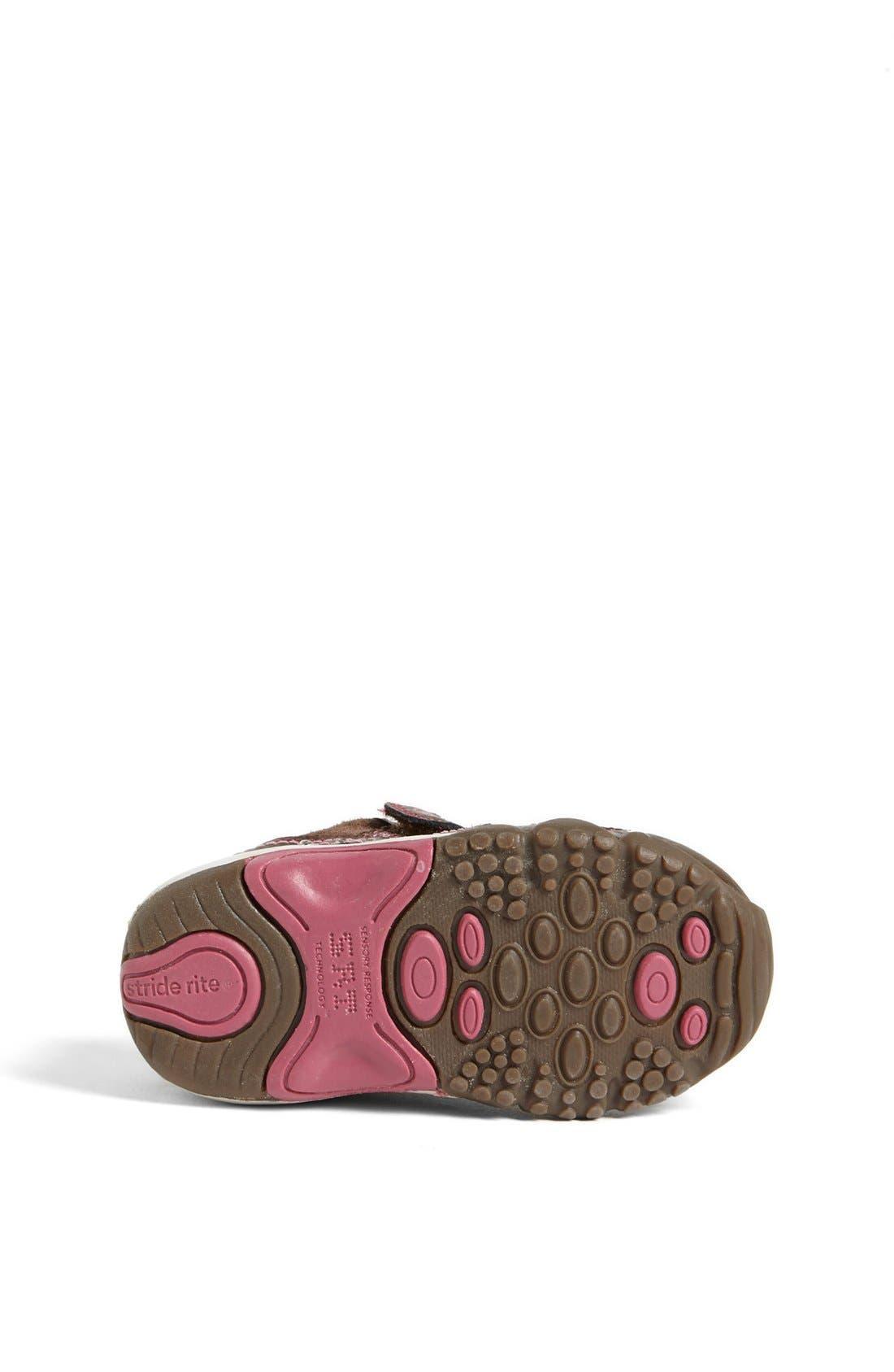 Alternate Image 3  - Stride Rite 'Lydia' Sneaker (Baby, Walker & Toddler)