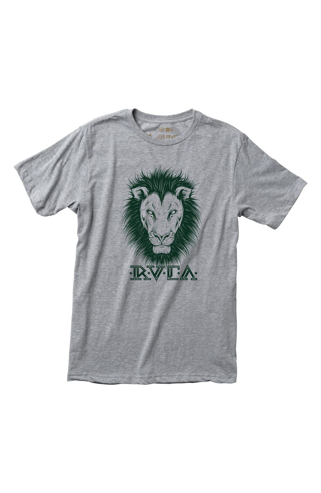 Alternate Image 1 Selected - RVCA 'Lions' T-Shirt (Big Boys)