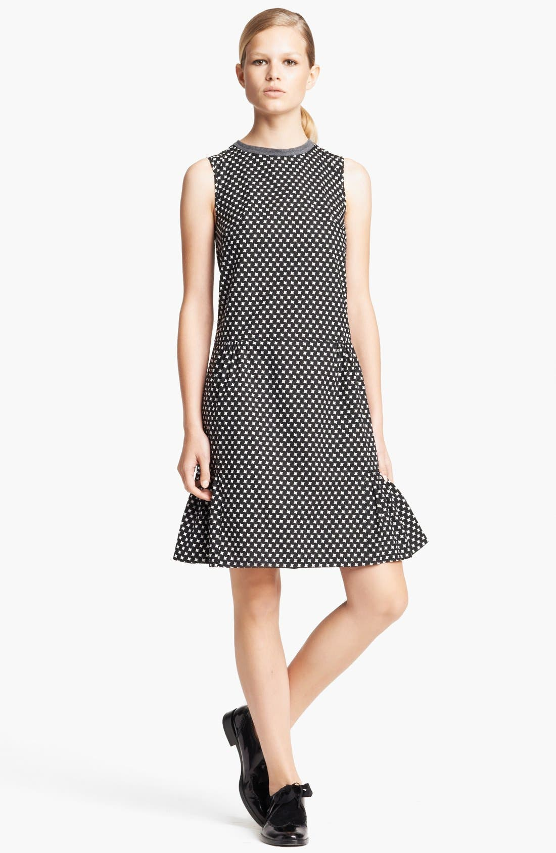 Main Image - Marni Houndstooth Print Full Skirt Dress