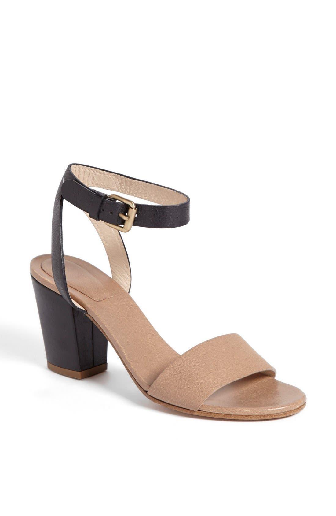Alternate Image 1 Selected - Chloé 'Heloise Udine' Bicolor Sandal