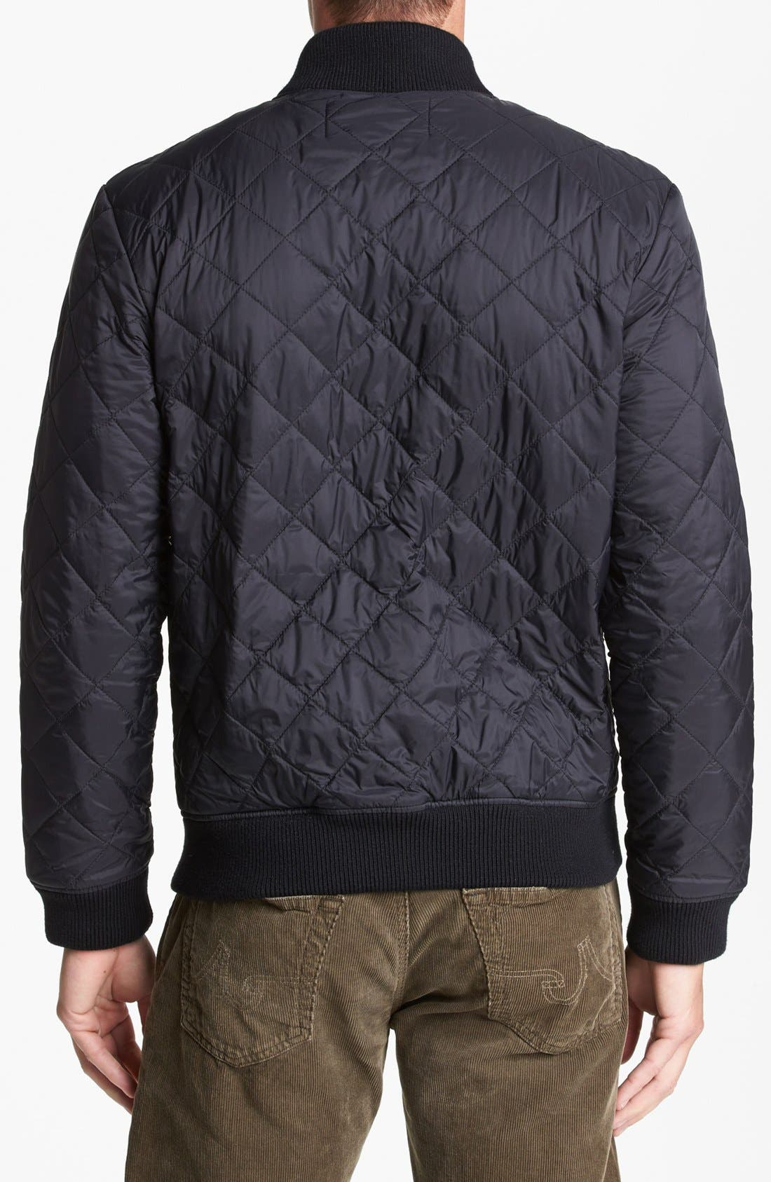 Alternate Image 2  - French Connection 'Marine' Quilted Jacket