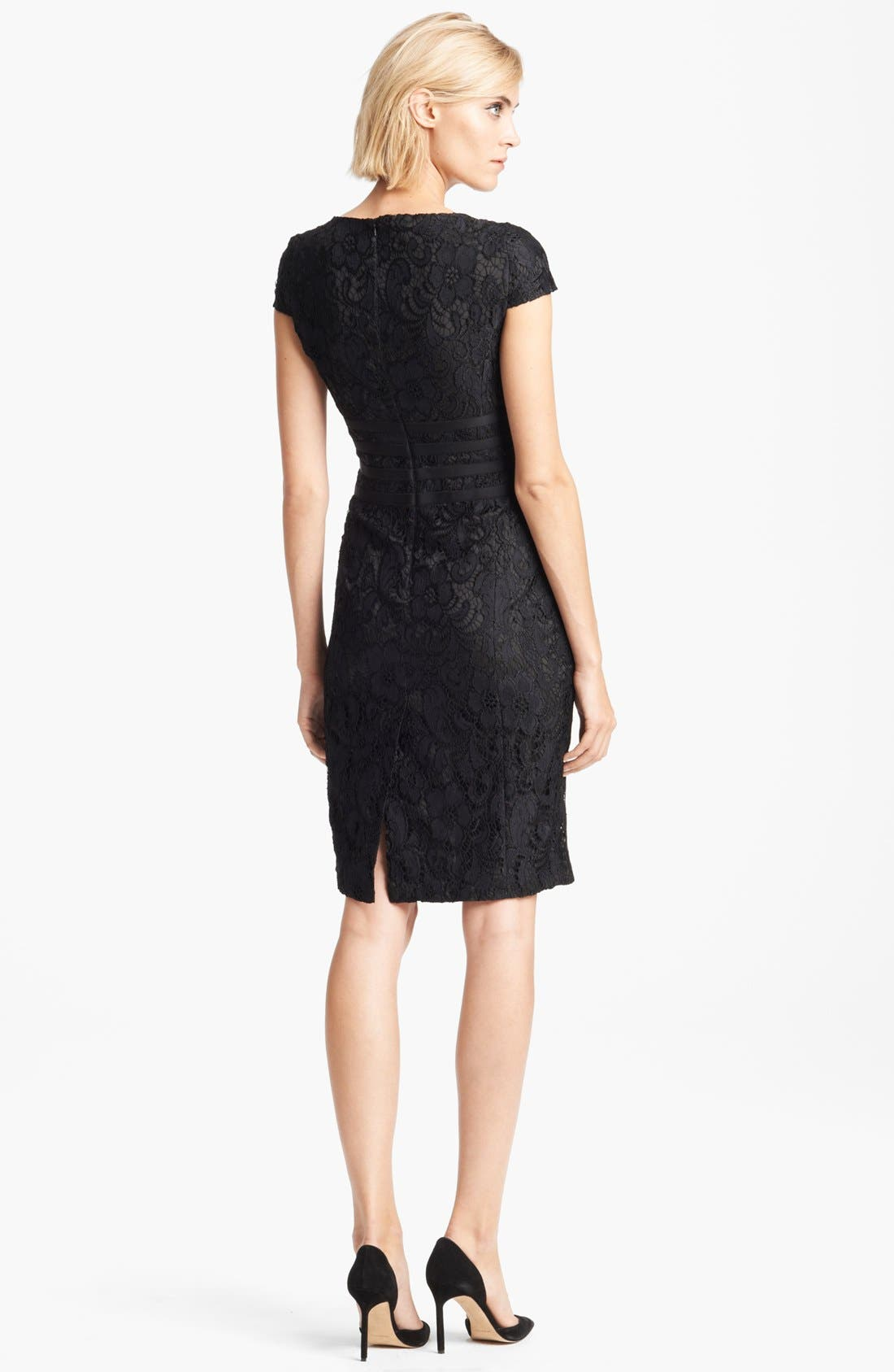 Alternate Image 2  - Moschino Cheap & Chic Bow Detail Lace Dress