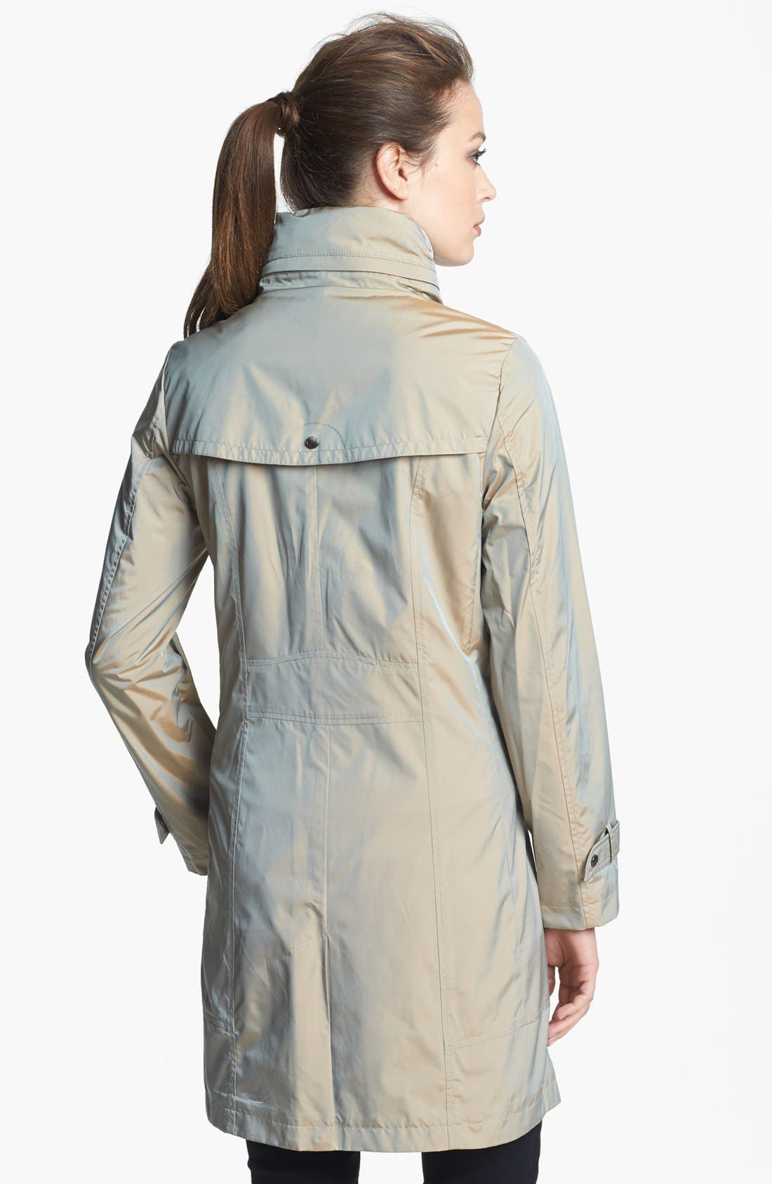 Alternate Image 2  - Cole Haan Packable Raincoat
