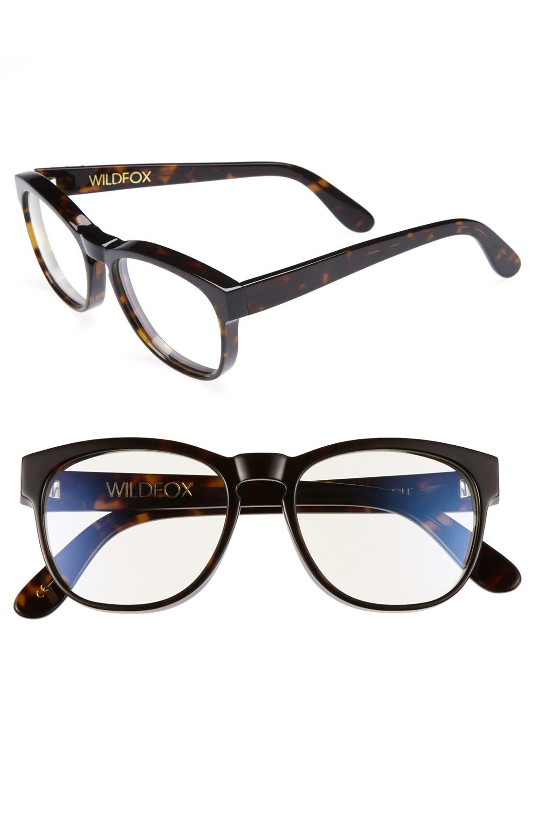 Alternate Image 1 Selected - Wildfox 'Classic Fox' 54mm Optical Glasses