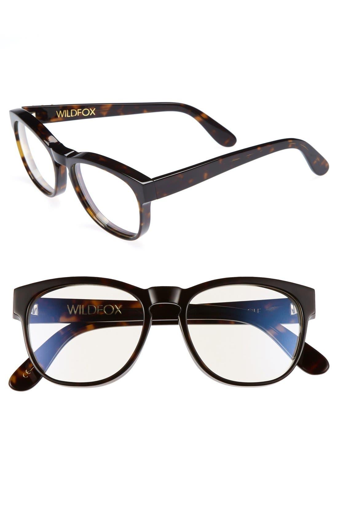 Main Image - Wildfox 'Classic Fox' 54mm Optical Glasses