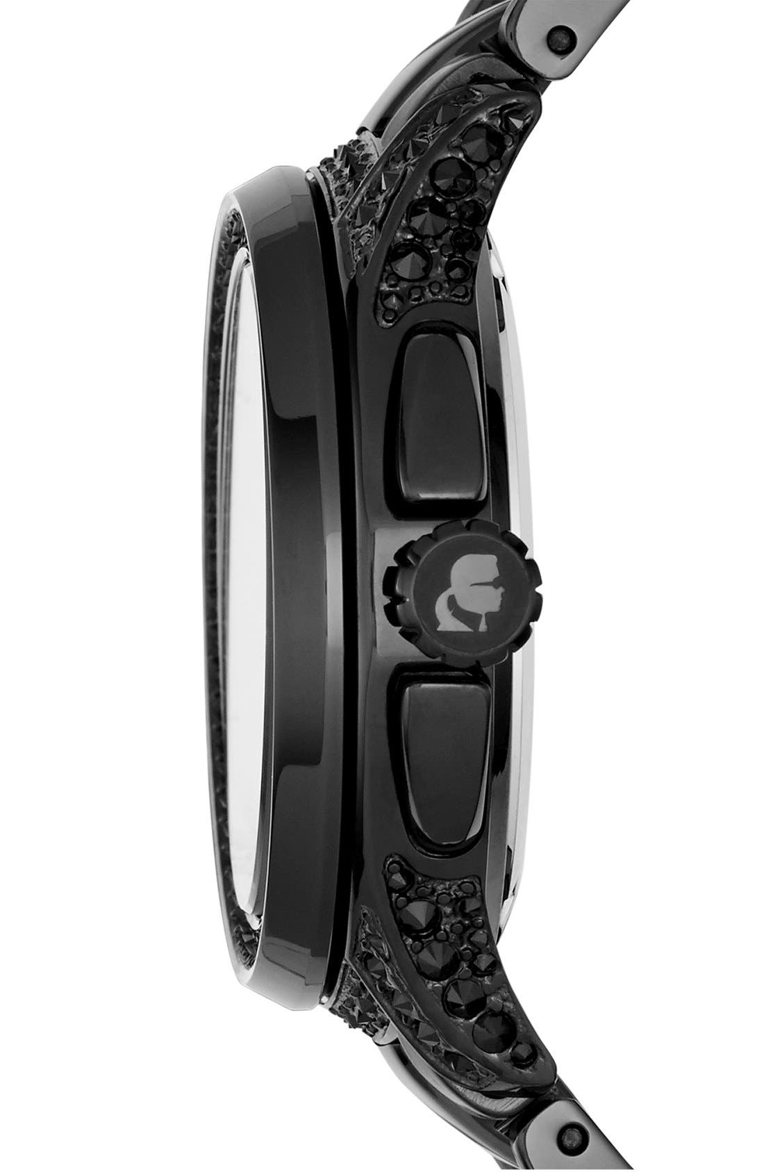 Alternate Image 3  - KARL LAGERFELD '7' Bracelet Watch, 39mm
