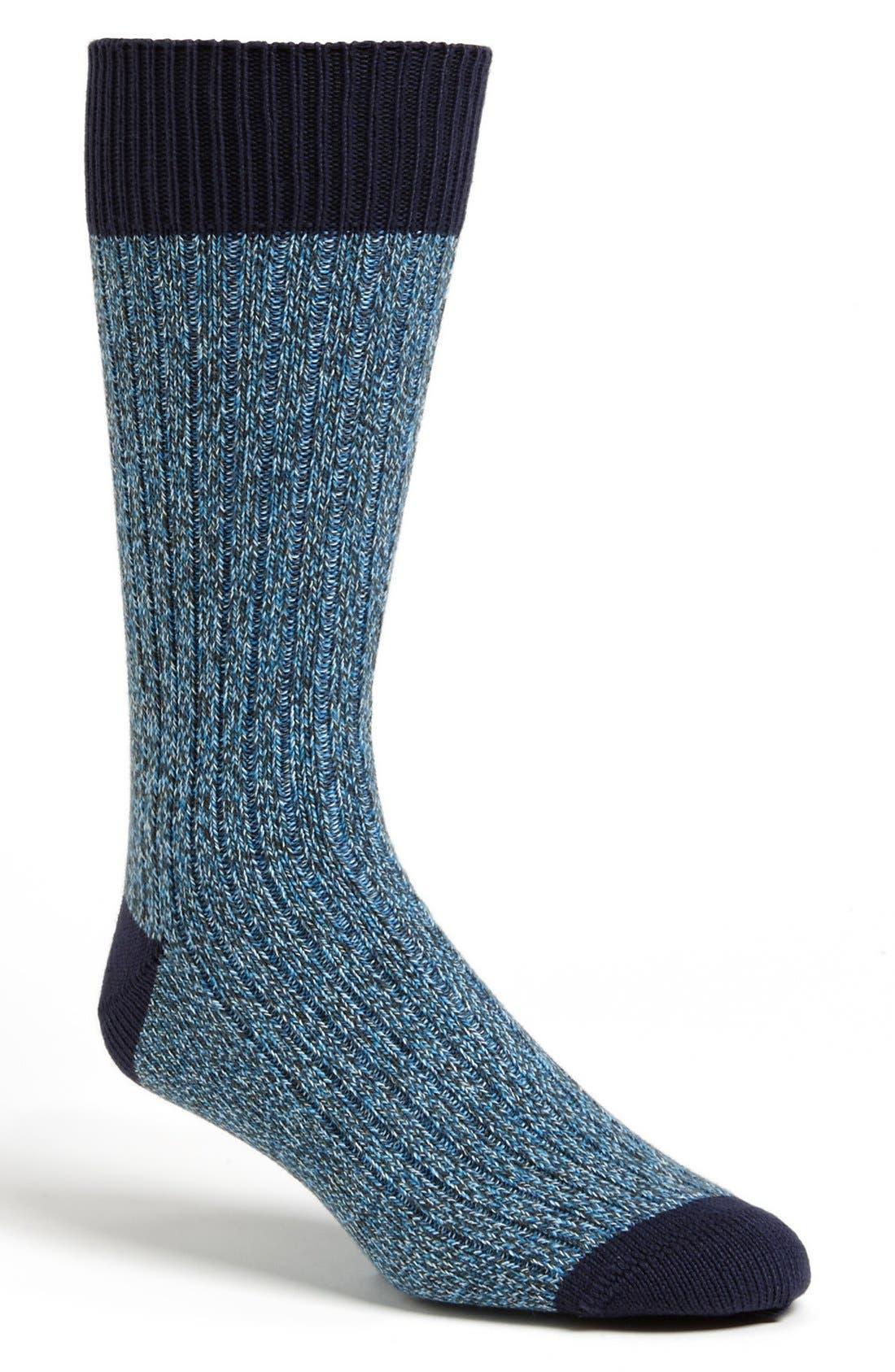 Alternate Image 1 Selected - Paul Smith Cotton Blend Socks