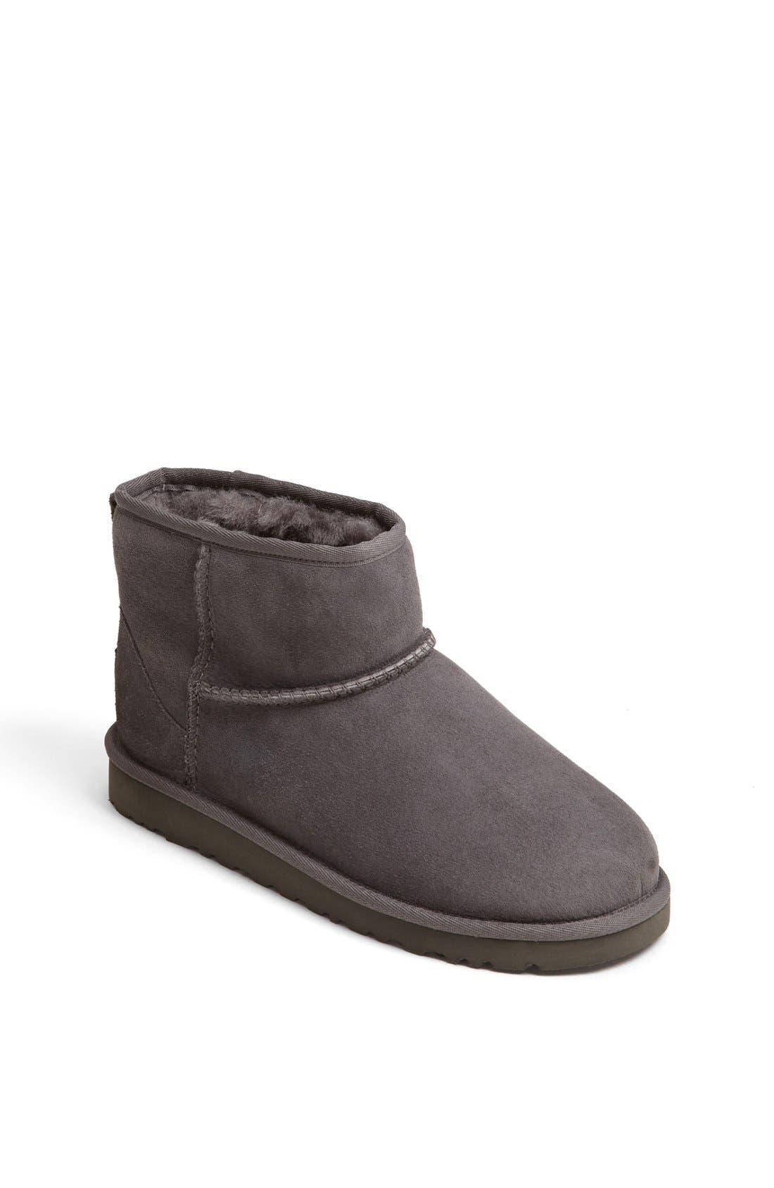 Alternate Image 1 Selected - UGG® 'Classic Mini' Boot (Walker, Toddler & Big Kid)