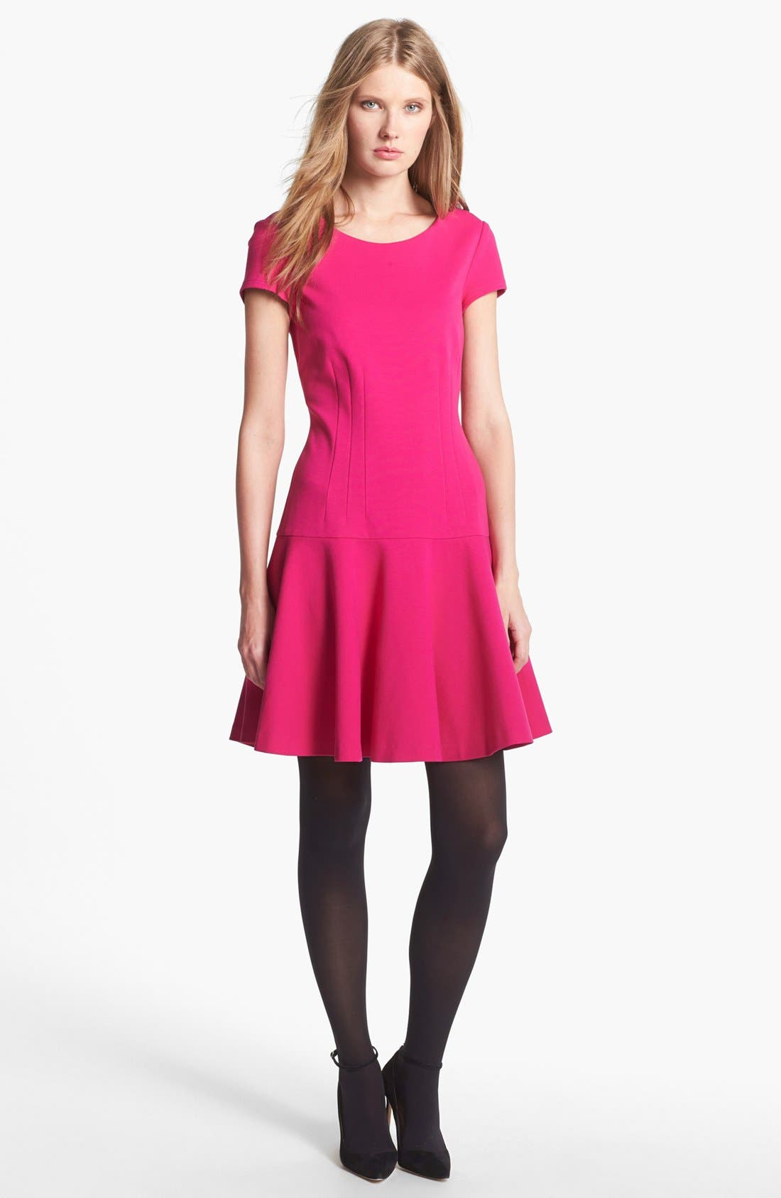 Alternate Image 1 Selected - Diane von Furstenberg Knit A-Line Dress