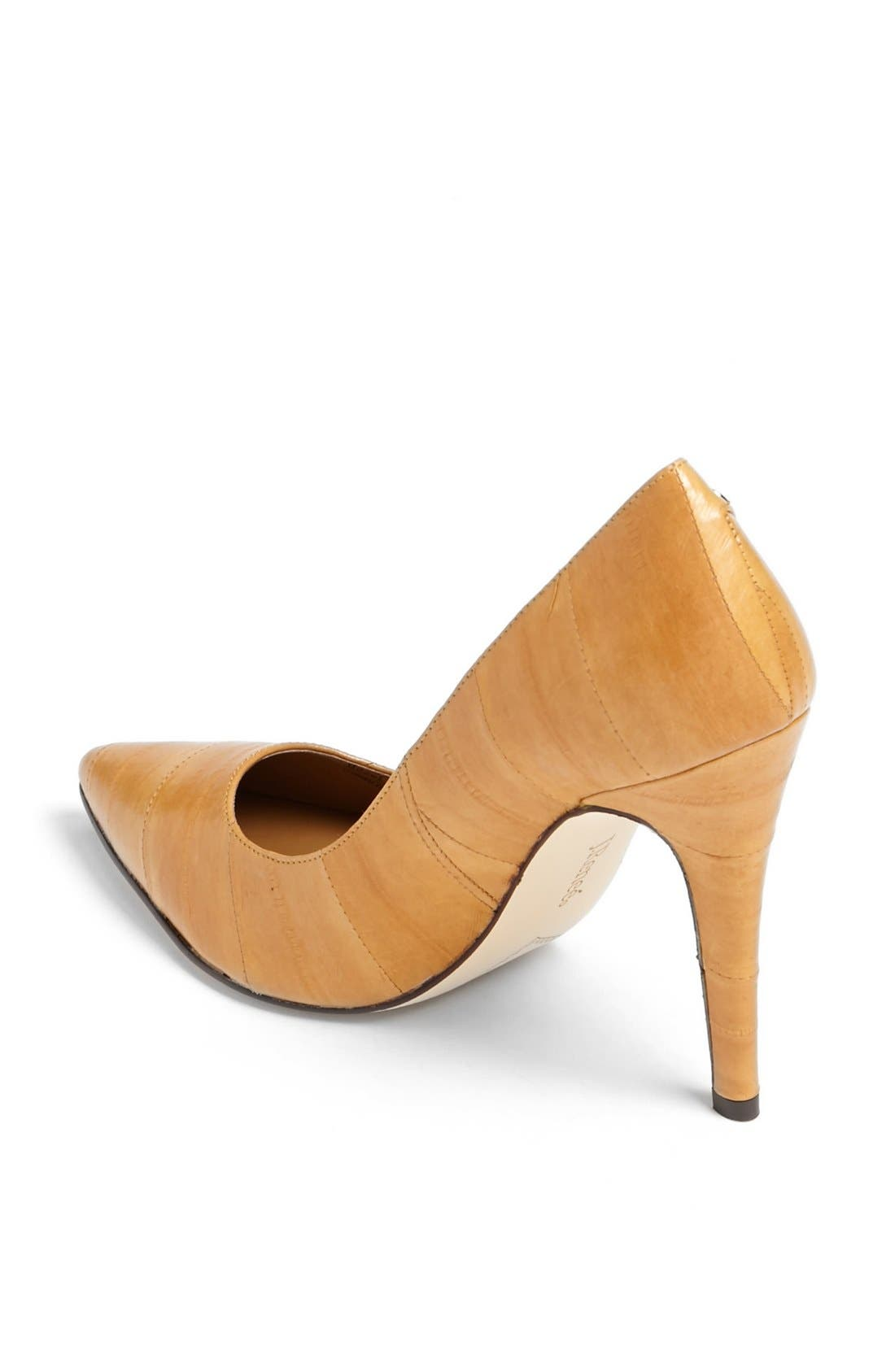 Alternate Image 2  - J. Reneé 'Bezel' Eel Skin Pump