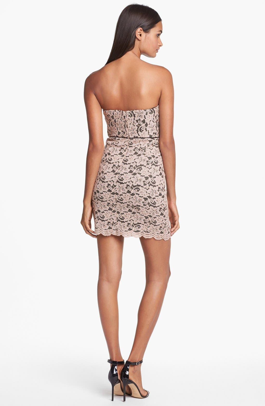 Alternate Image 2  - Diane von Furstenberg 'Walker' Lace Tube Dress