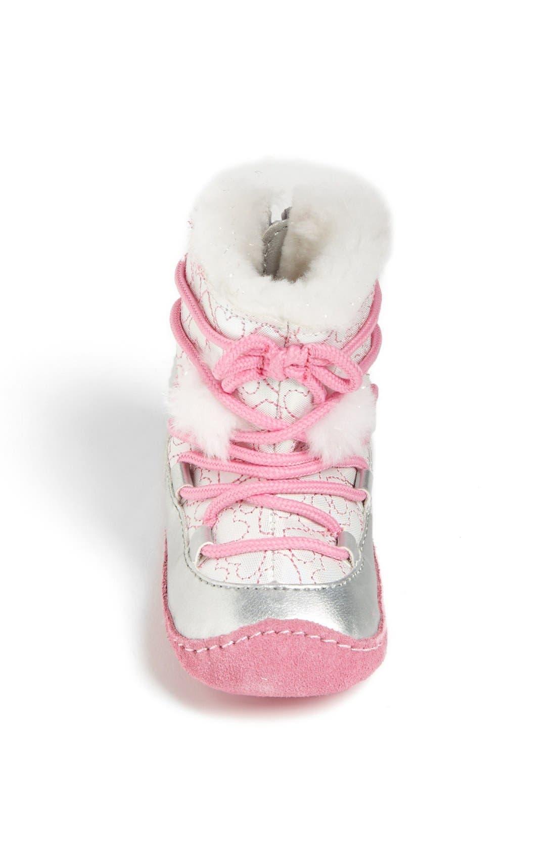 Alternate Image 3  - Stride Rite 'Crawl - Snowdrop' Boot (Baby Girls)