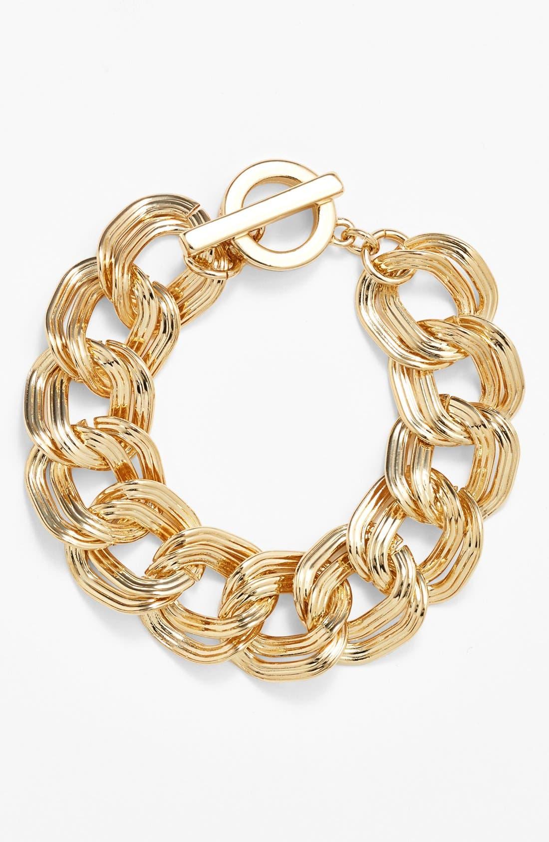 Main Image - Anne Klein Link Bracelet