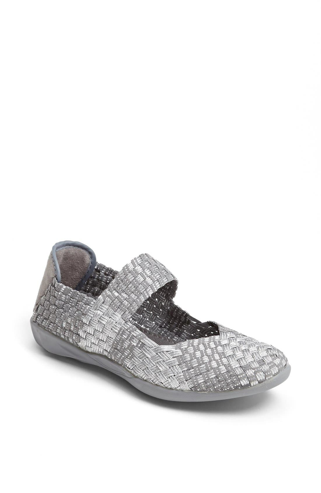 'Cuddly' Sneaker,                             Main thumbnail 1, color,                             Silver