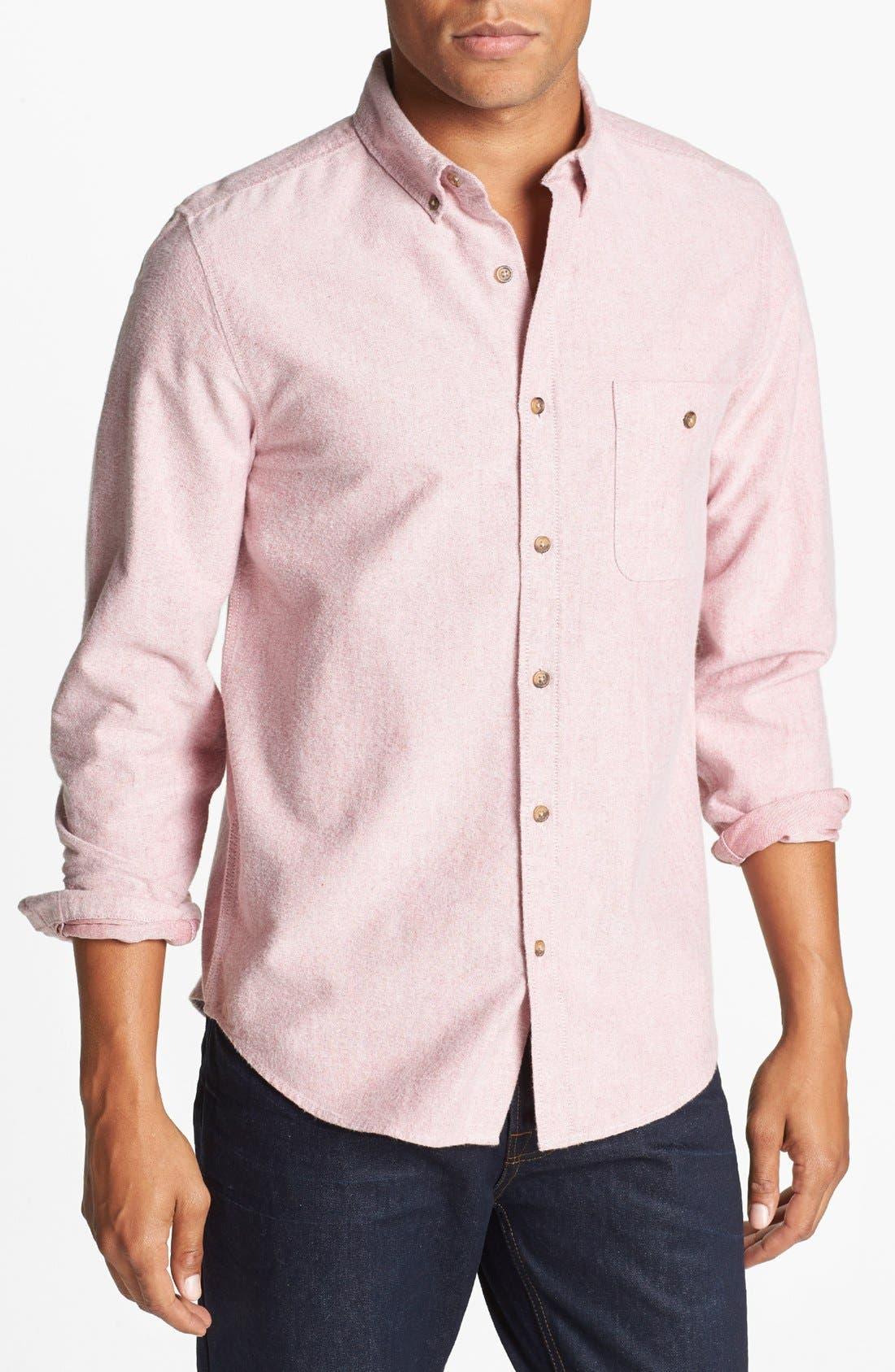 Alternate Image 1 Selected - Topman Oxford Cloth Shirt