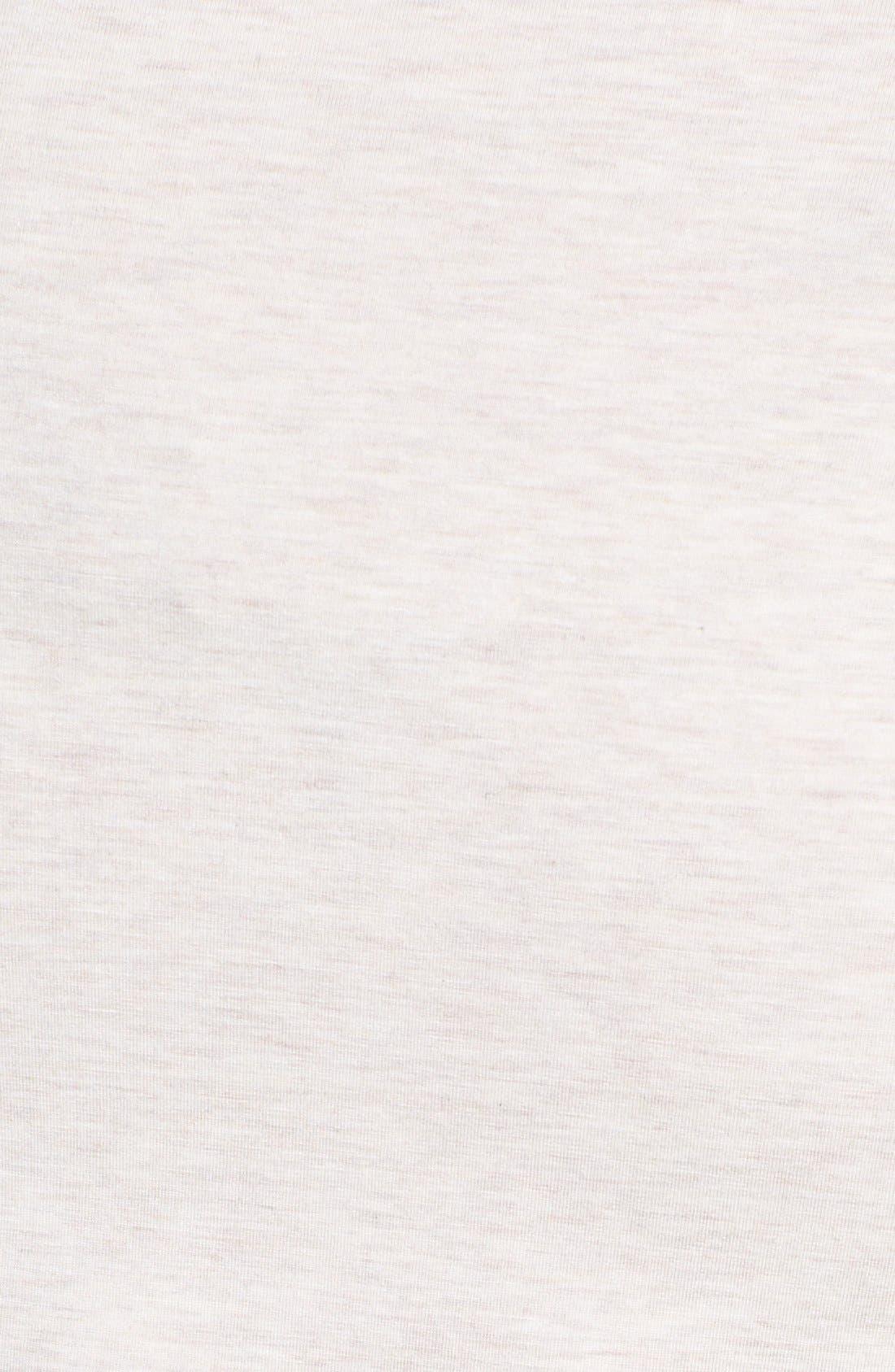 Alternate Image 3  - Amber Sun 'Madeline' Ballet Neck Tee