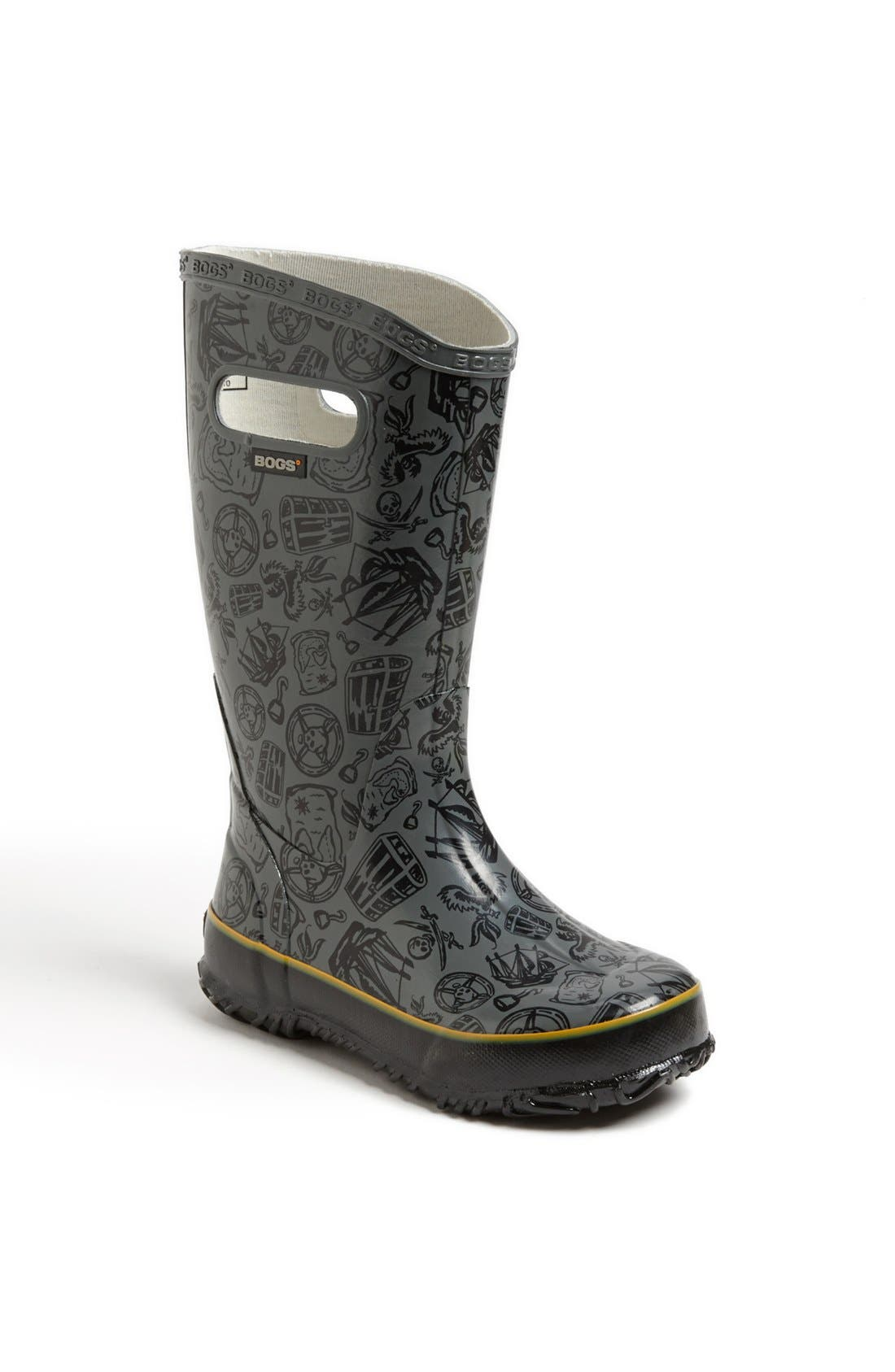 Alternate Image 1 Selected - Bogs 'Pirate' Rain Boot (Walker, Toddler, Little Kid & Big Kid)