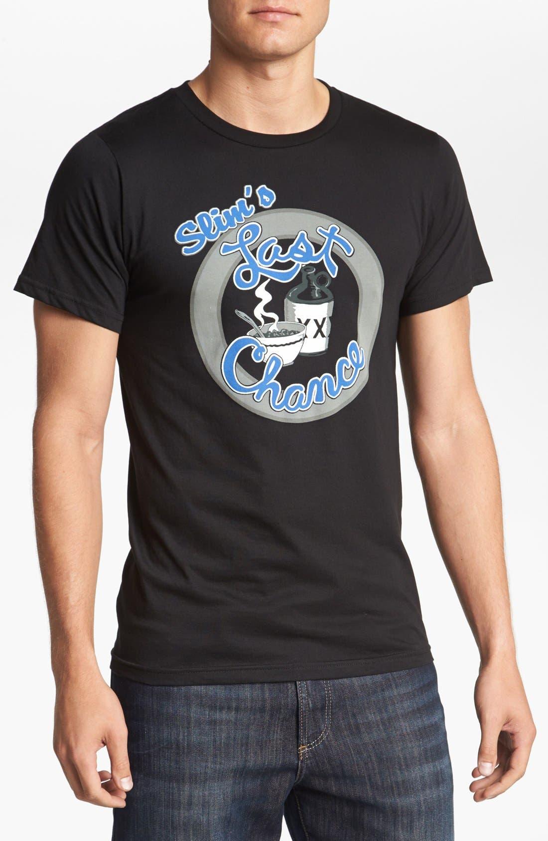 Alternate Image 1 Selected - Horses Cut Shop 'Slim's Last Chance' T-Shirt