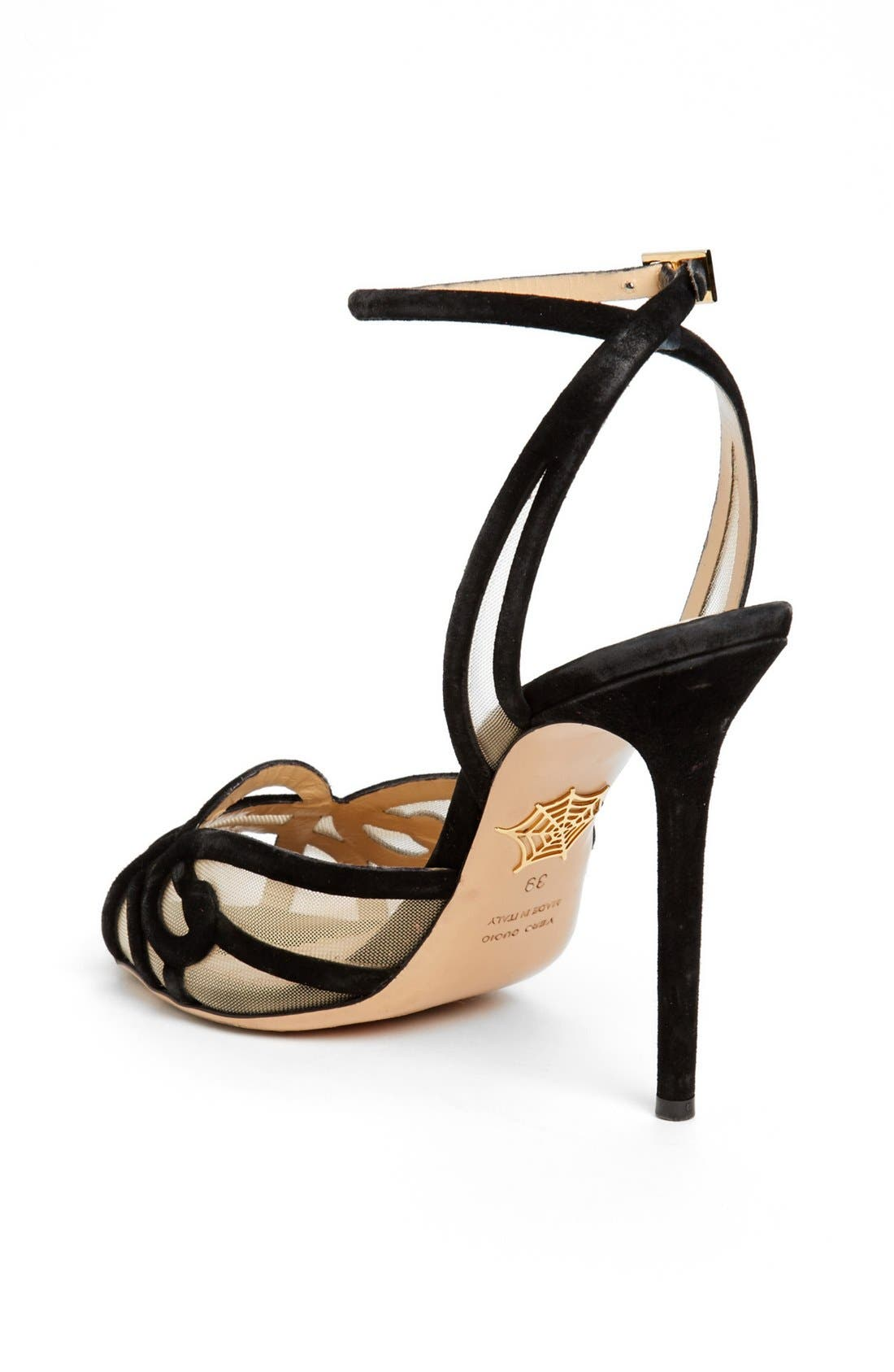 Alternate Image 2  - Charlotte Olympia 'Sugar' High Strap Sandal