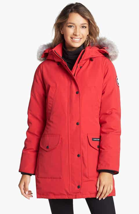 Women's Red Coats & Jackets: Puffer & Down | Nordstrom
