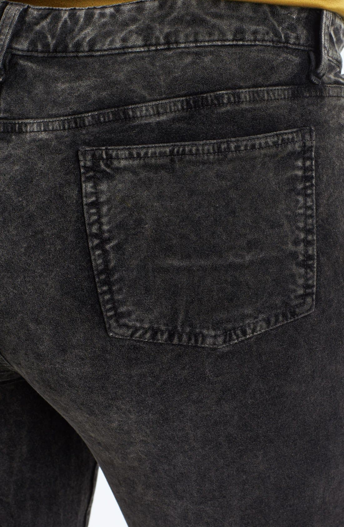 Alternate Image 3  - Eileen Fisher Velveteen Stretch Jeans (Plus Size)