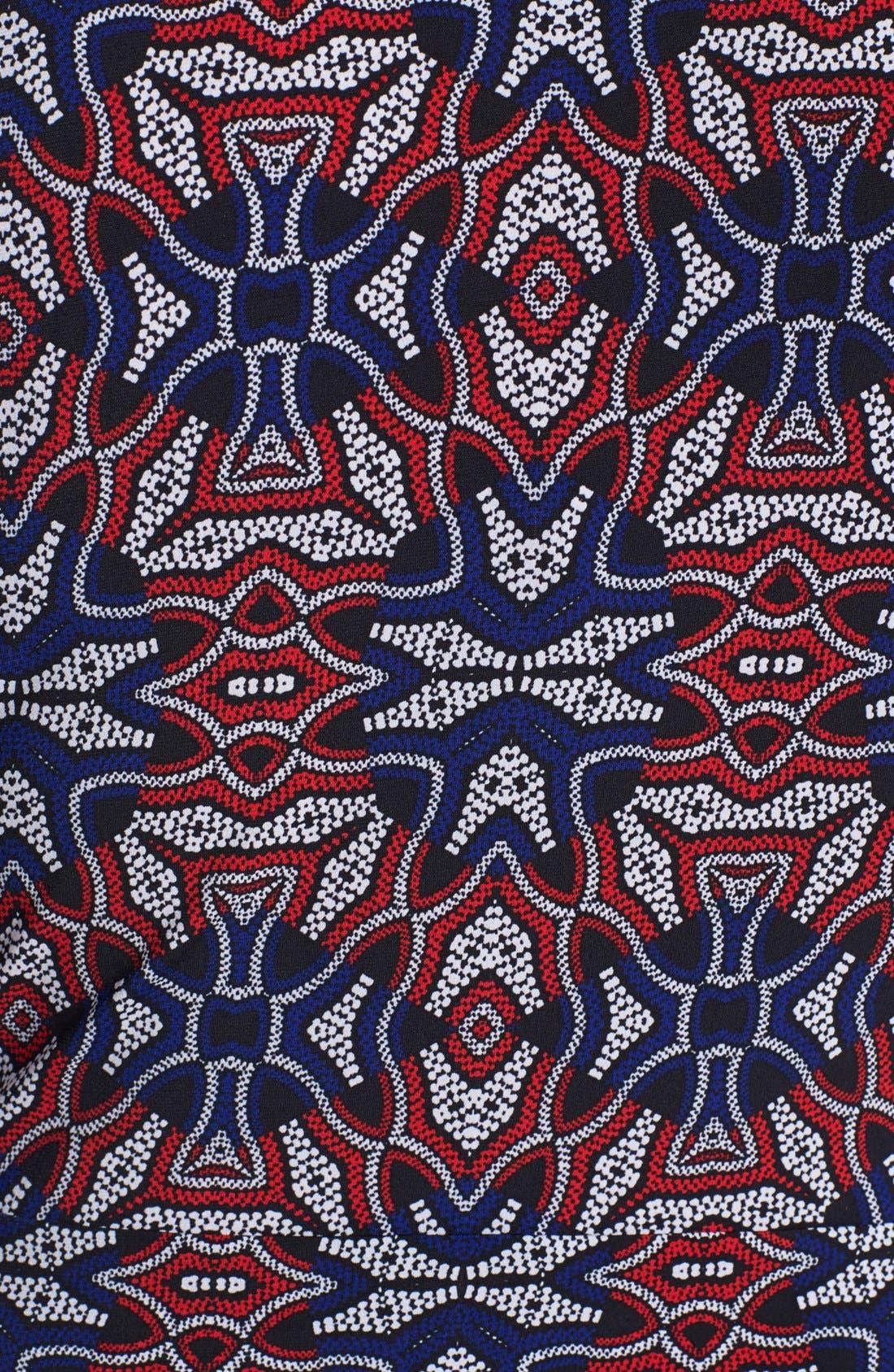 Alternate Image 3  - Anne Klein Print Faux Wrap Dress (Plus Size)
