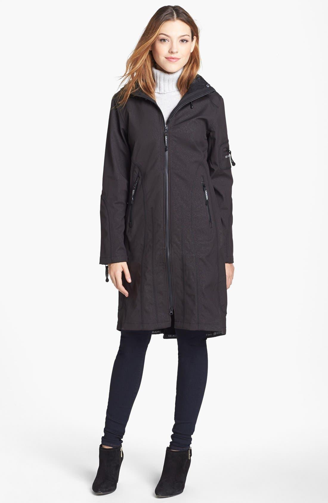 Ilse Jacobsen Hornbaek 'Rain 6' Hooded Waterproof Coat