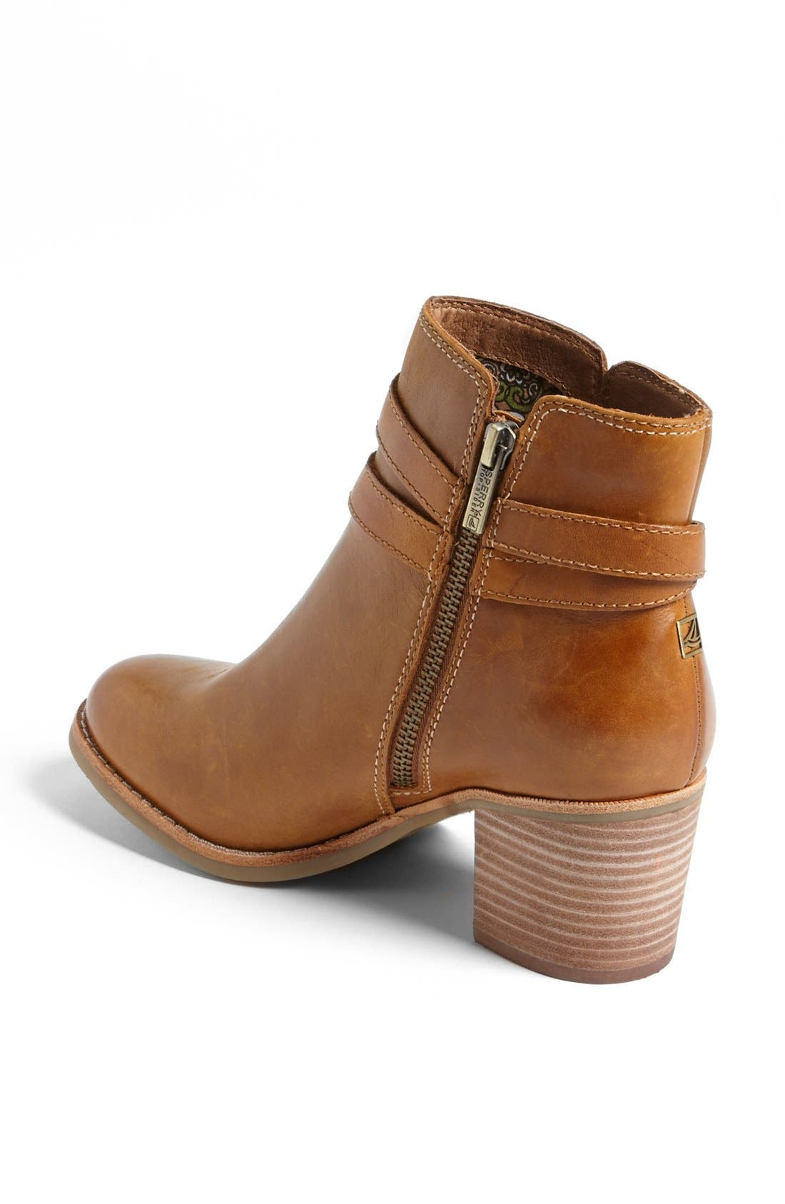 Top-Sider<sup>®</sup> 'Chelton' Bootie,                             Alternate thumbnail 2, color,                             Tan