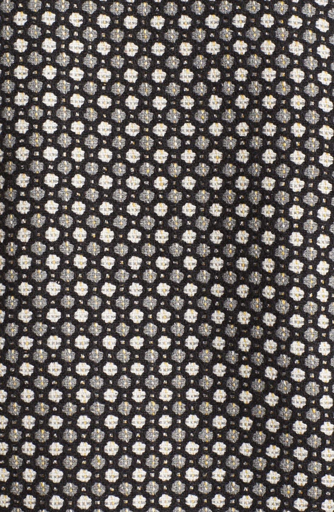 Alternate Image 3  - Pure Sugar Faux Leather Sleeve Jacquard Jacket