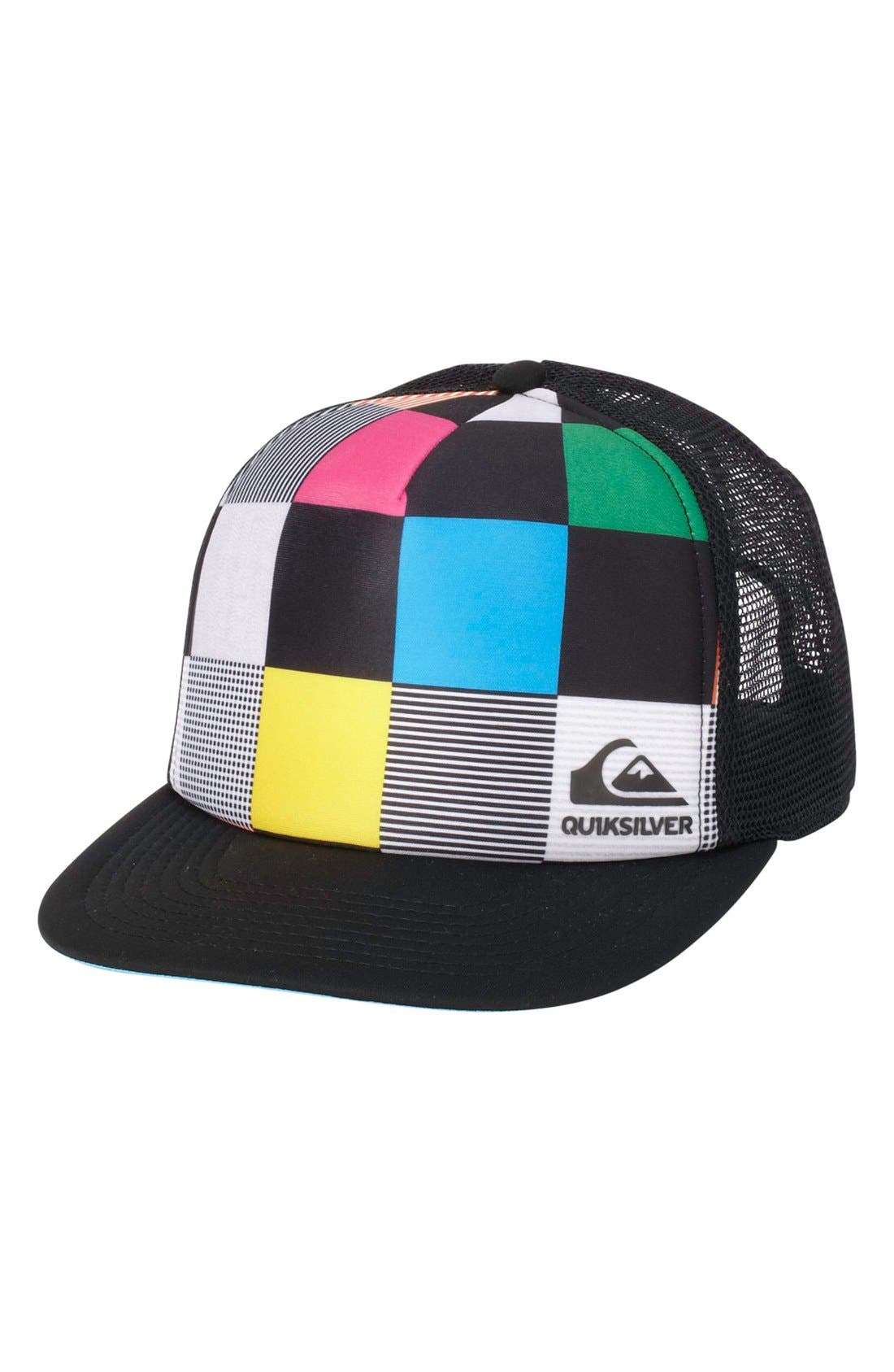 Alternate Image 1 Selected - Quiksilver 'Boards' Trucker Hat (Big Boys)